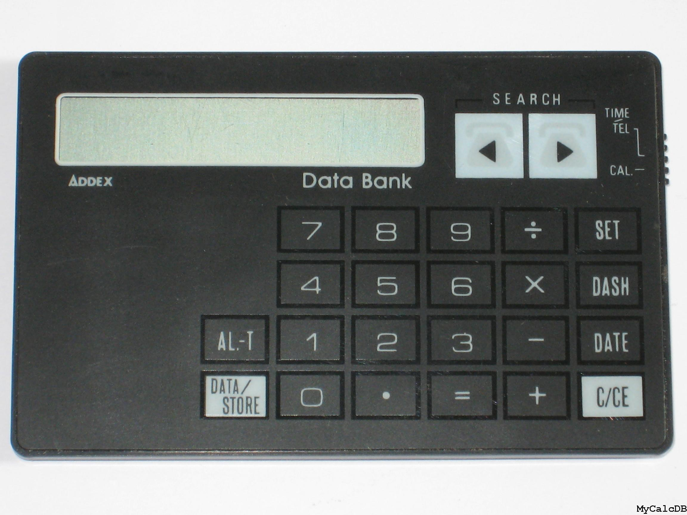 Addex Data Bank