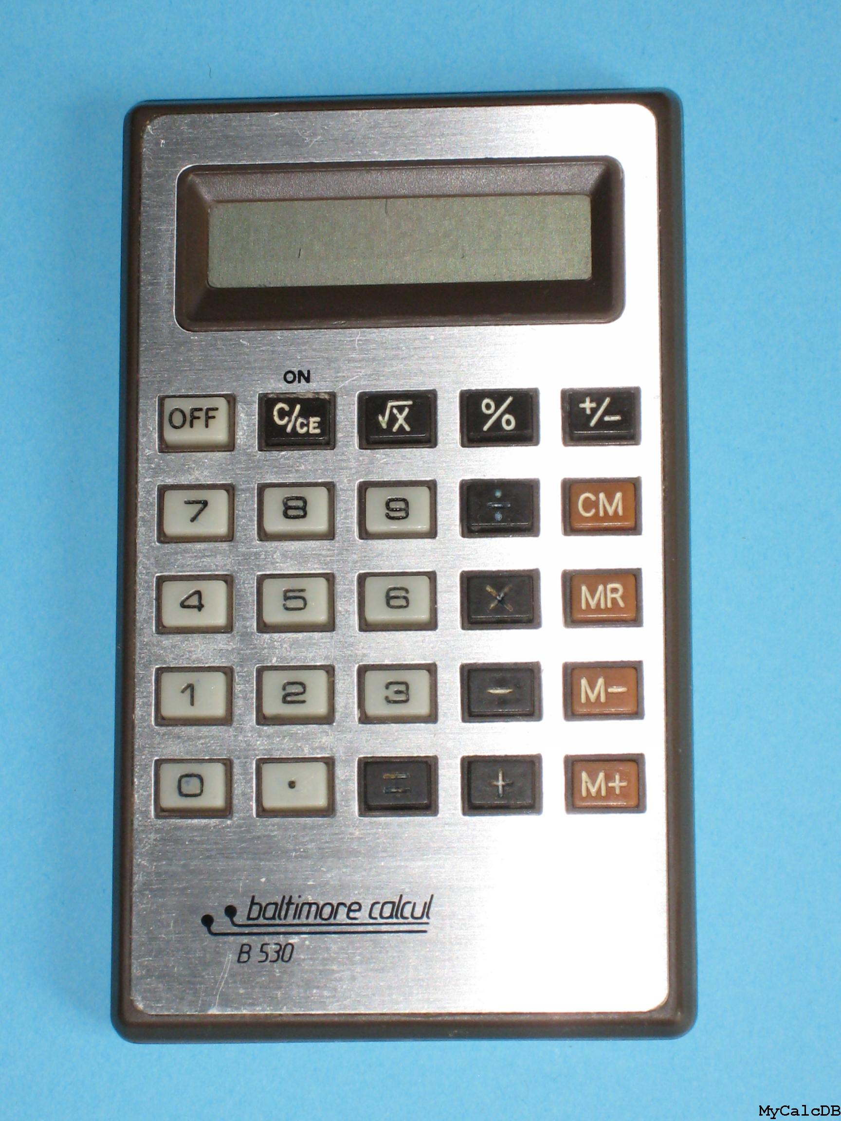 Baltimore Calcul B530