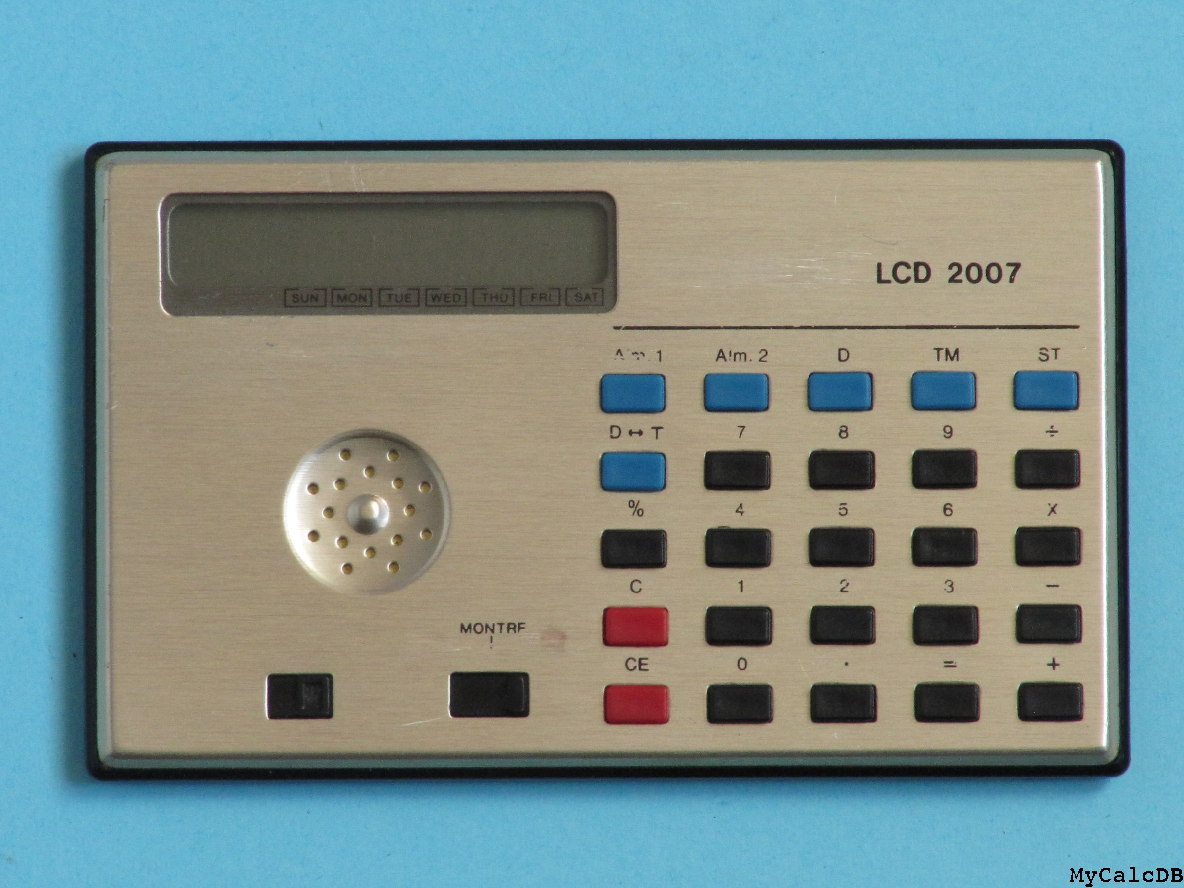 Calculor LCD 2007