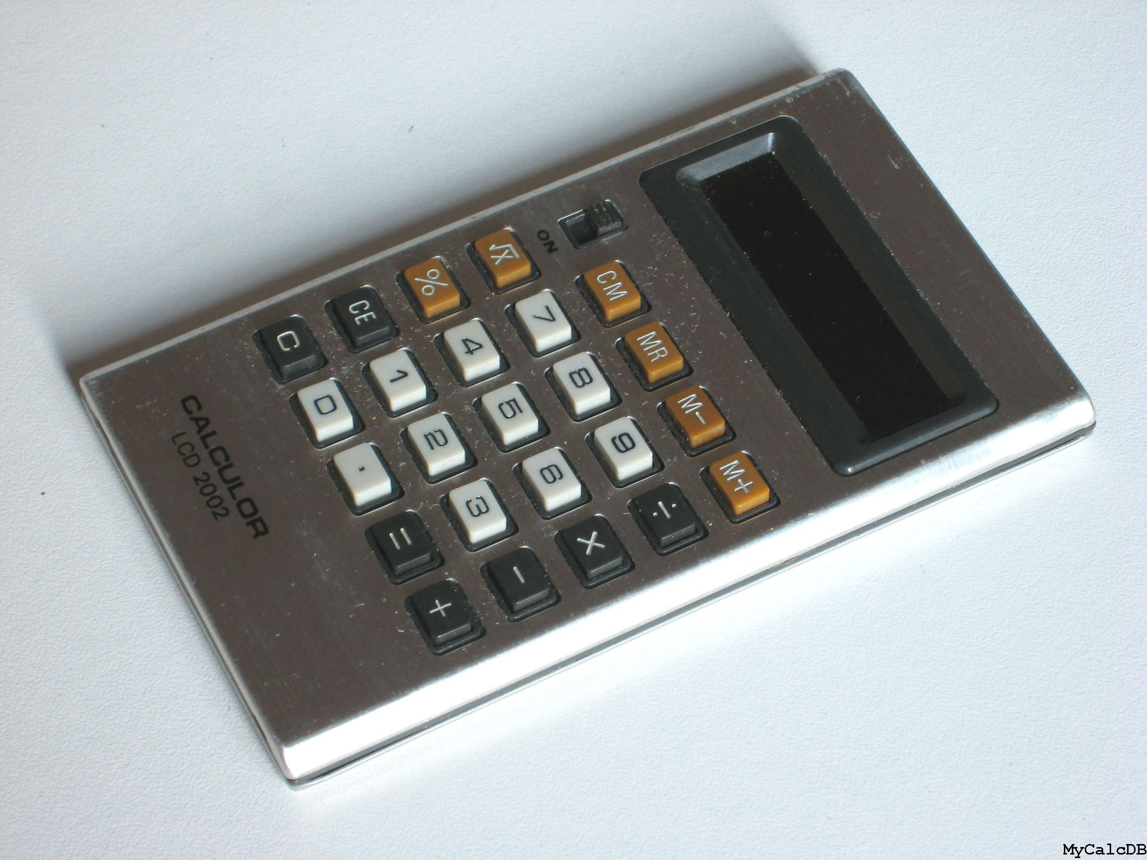 Calculor LCD 2002