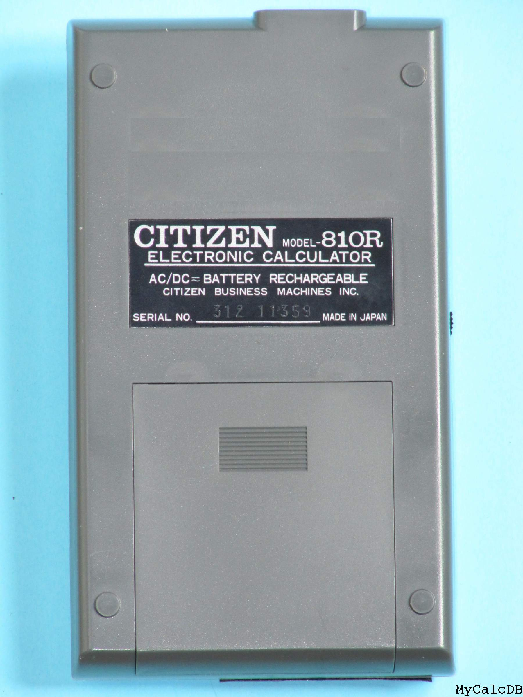 Citizen 810R