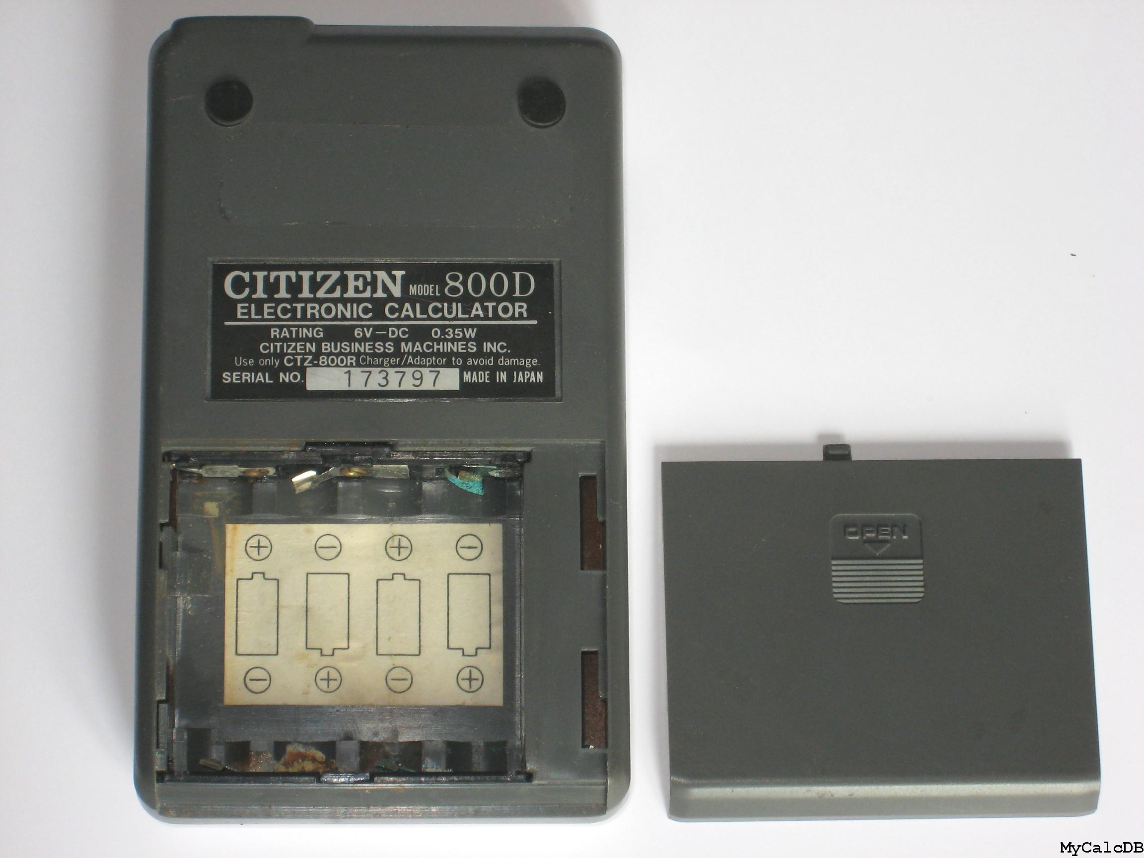 Citizen 800D
