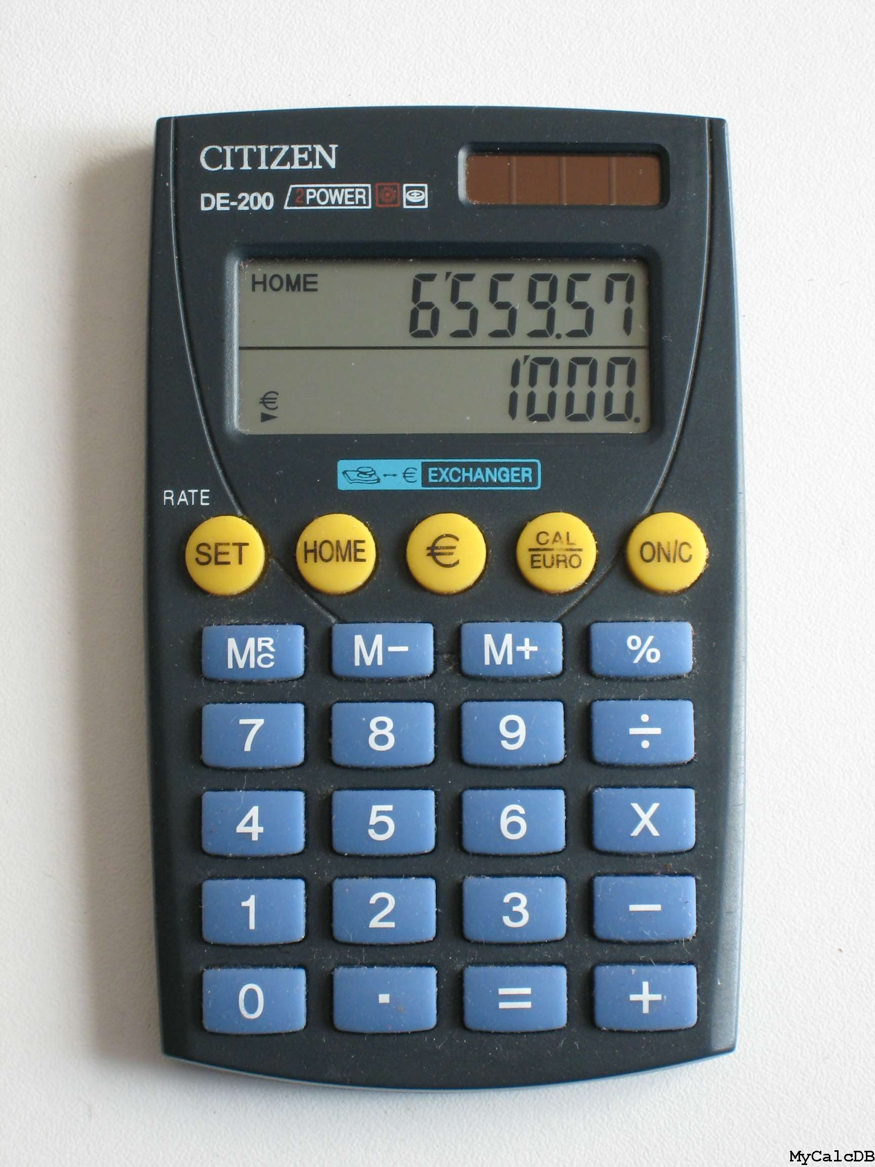 Citizen DE-200