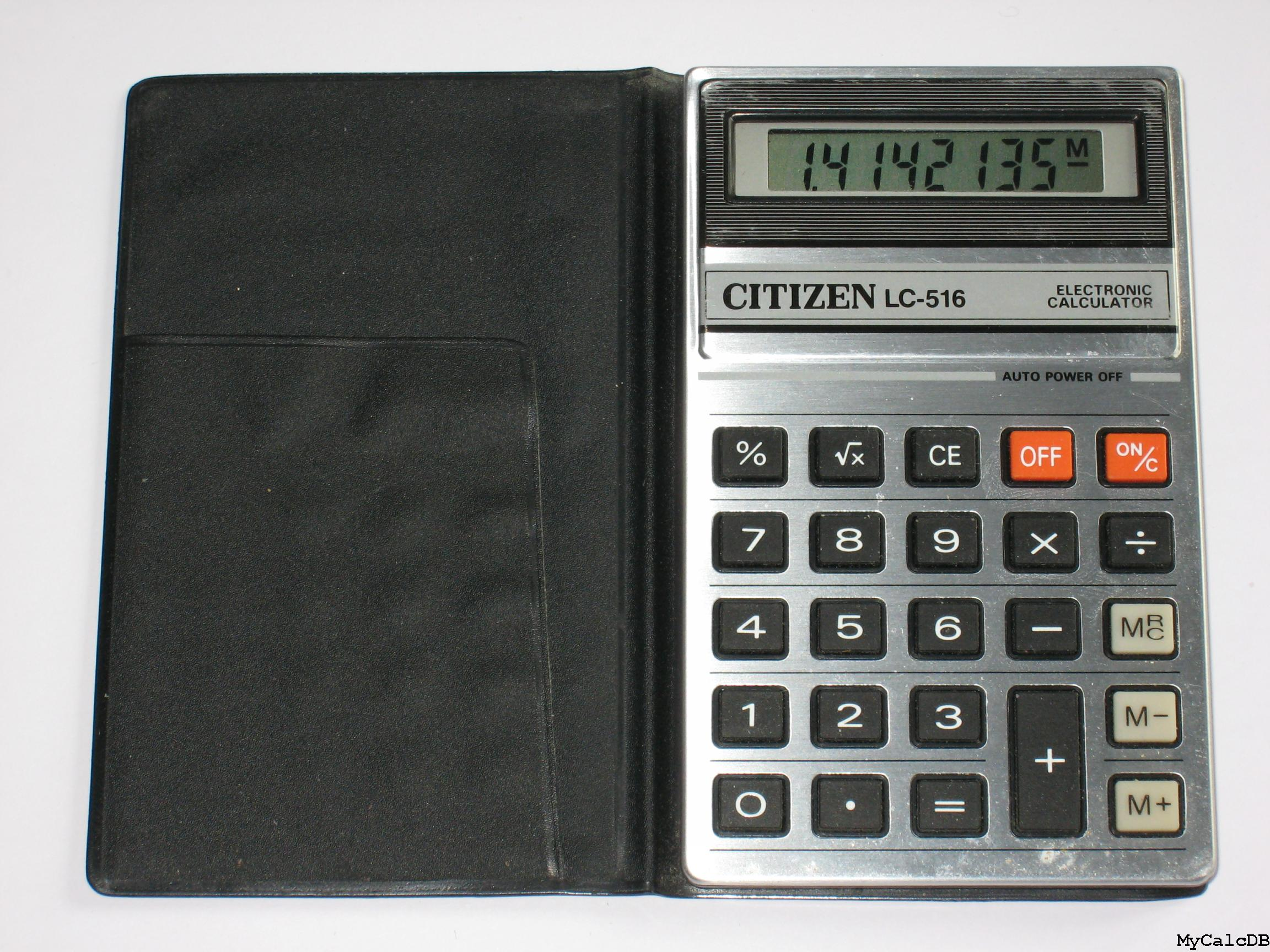 Citizen LC-516