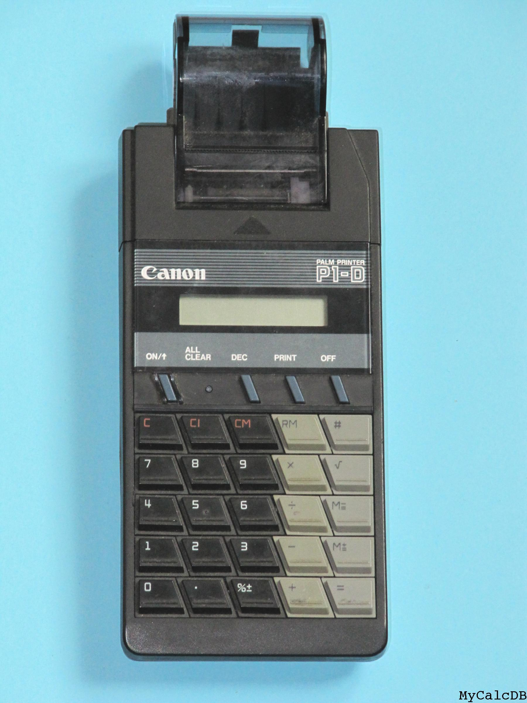 Canon PALM PRINTER P1-D