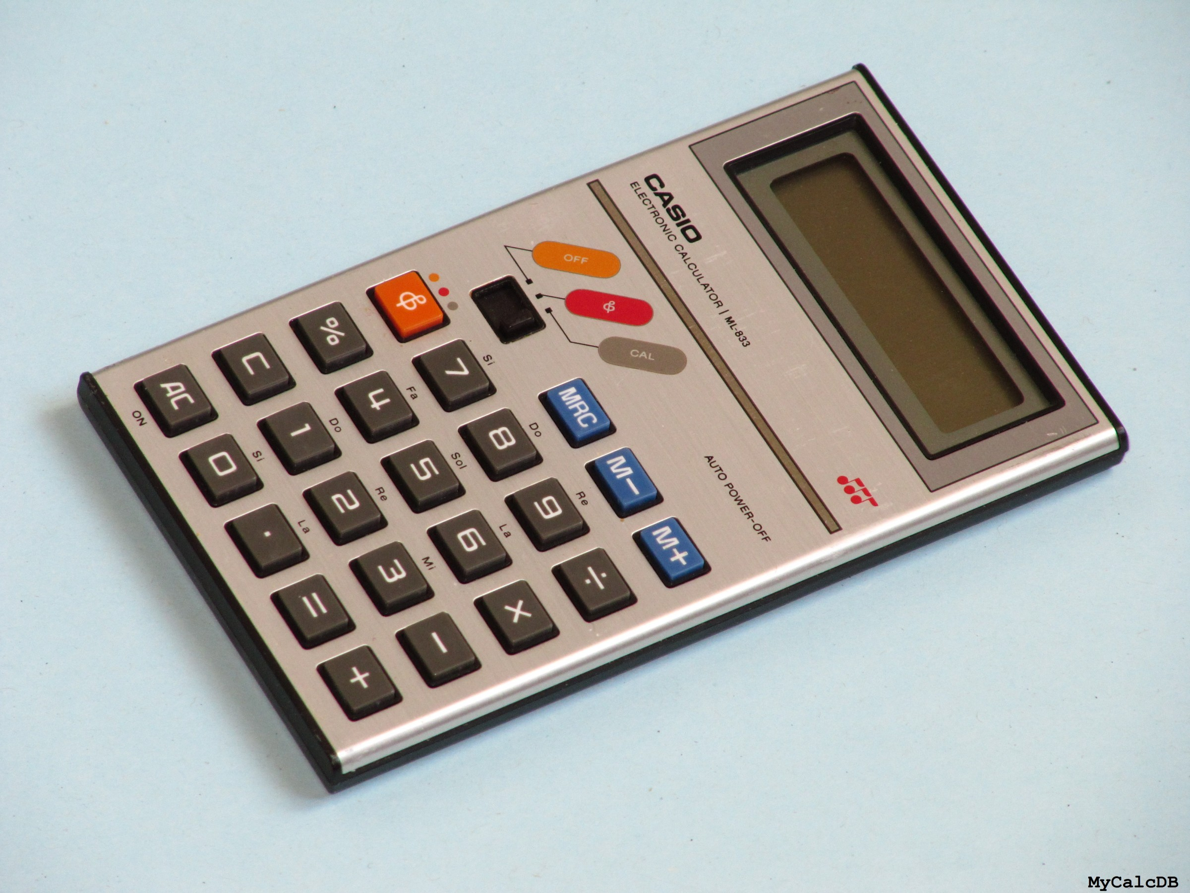 Casio ML-833