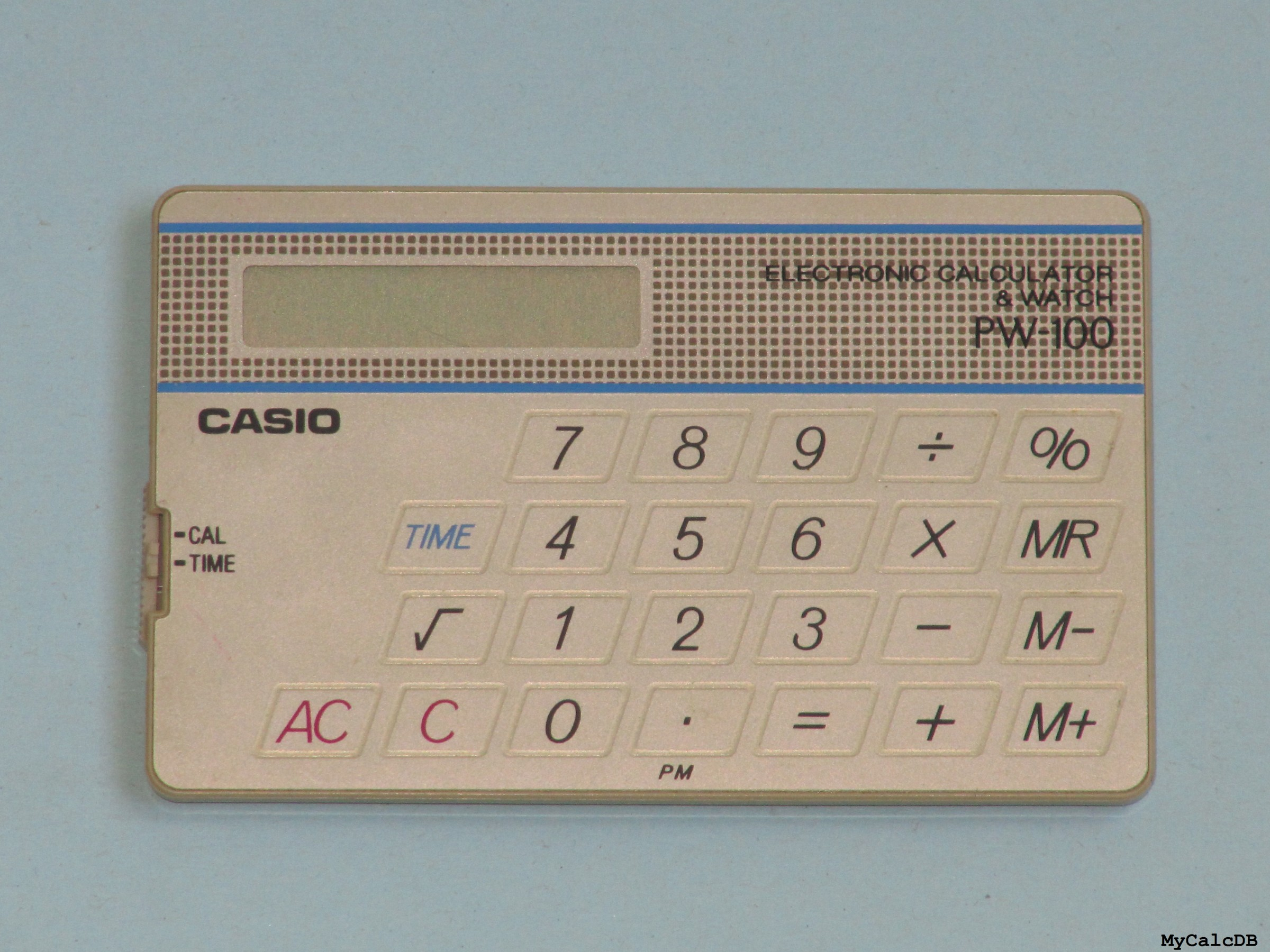 Casio PW-100