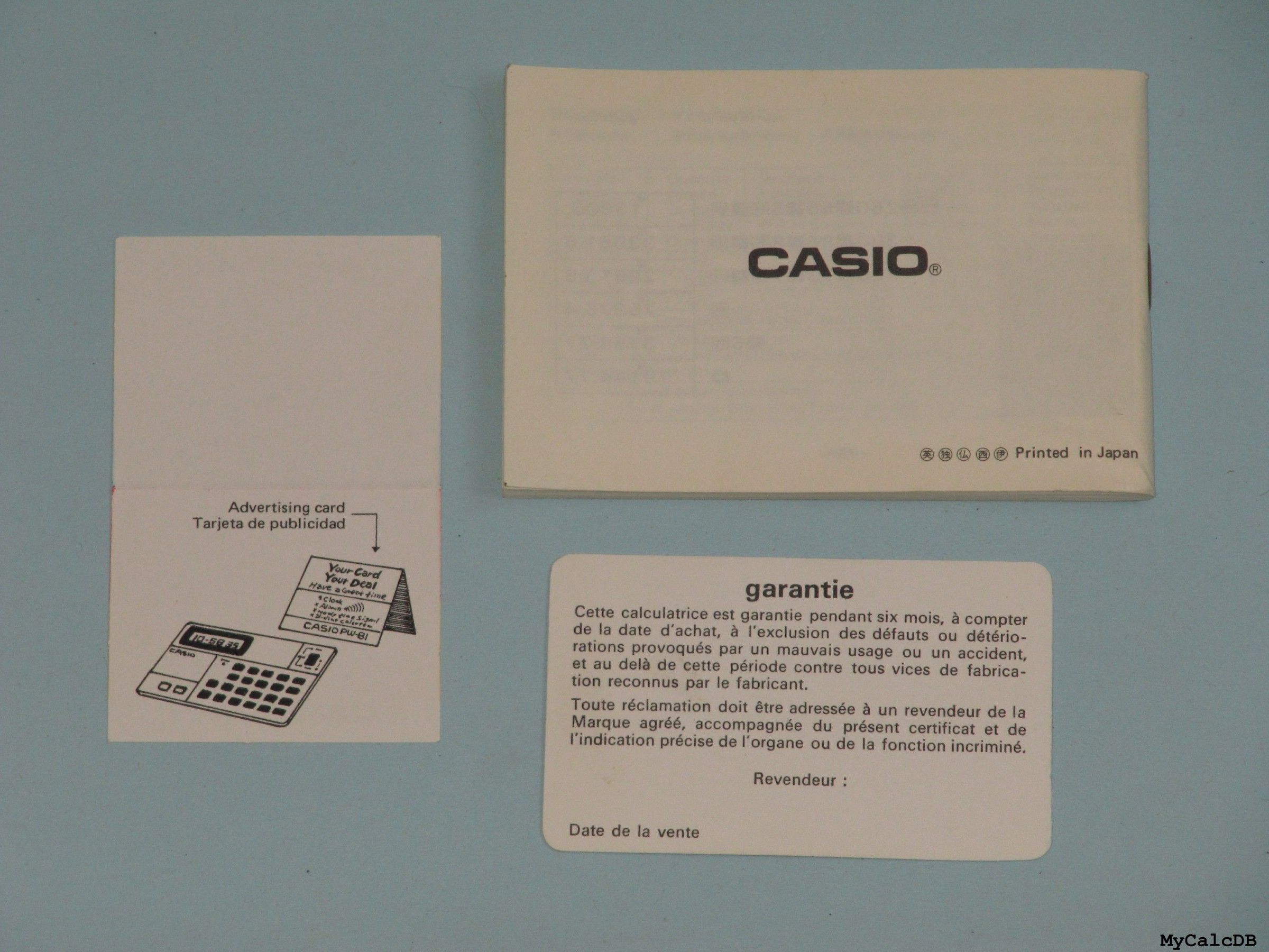 Casio PW-81