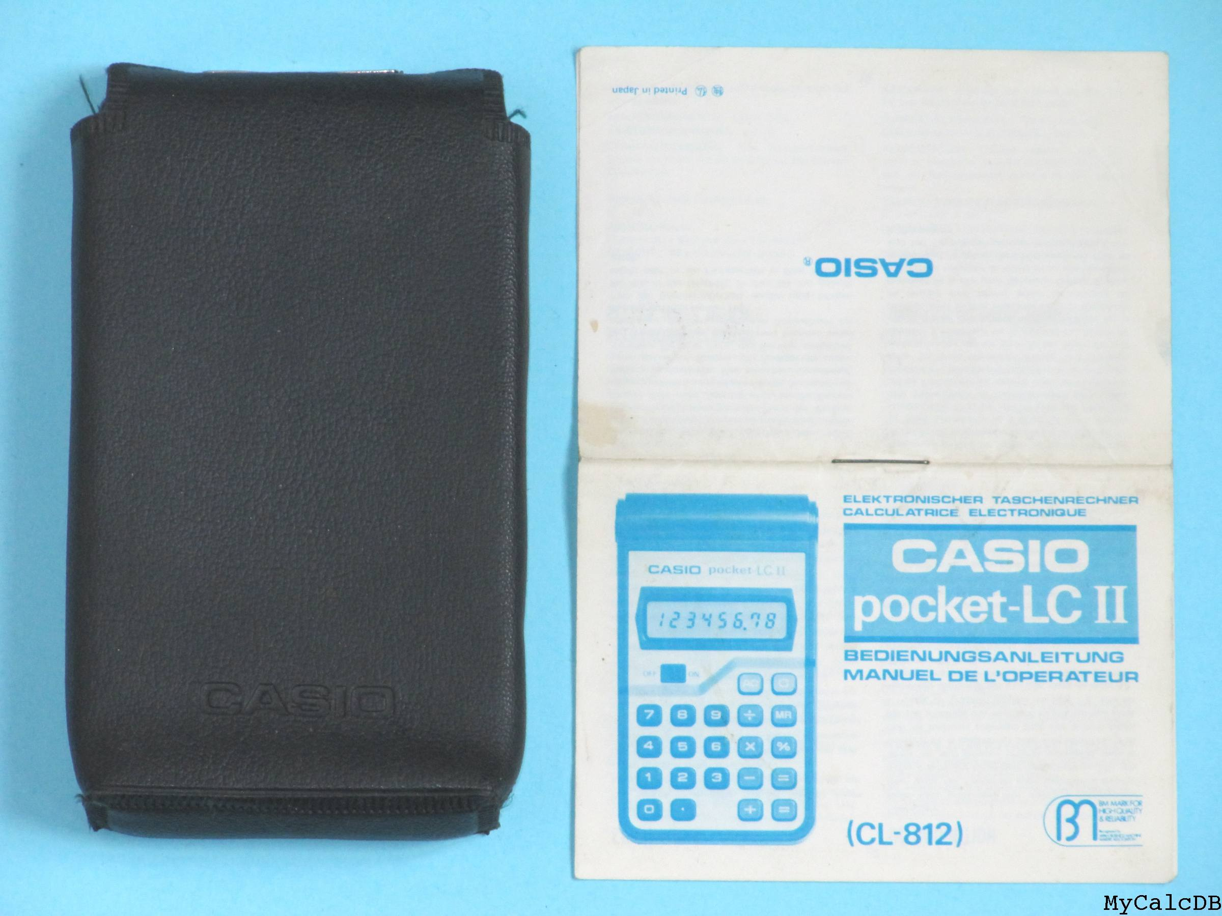 Casio pocket-LC II