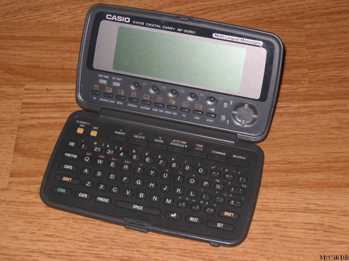 Casio SF-9350