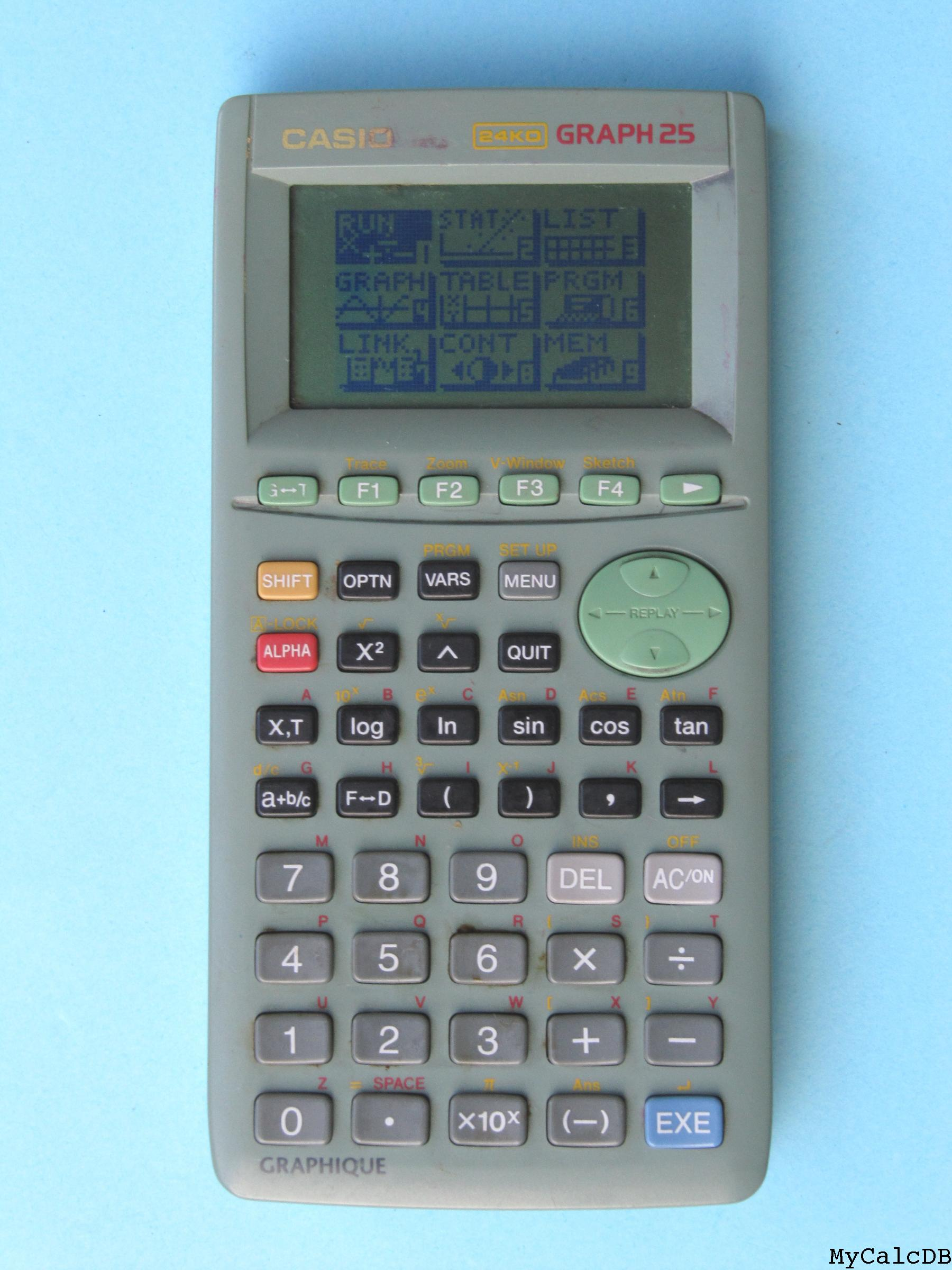 Casio GRAPH 25