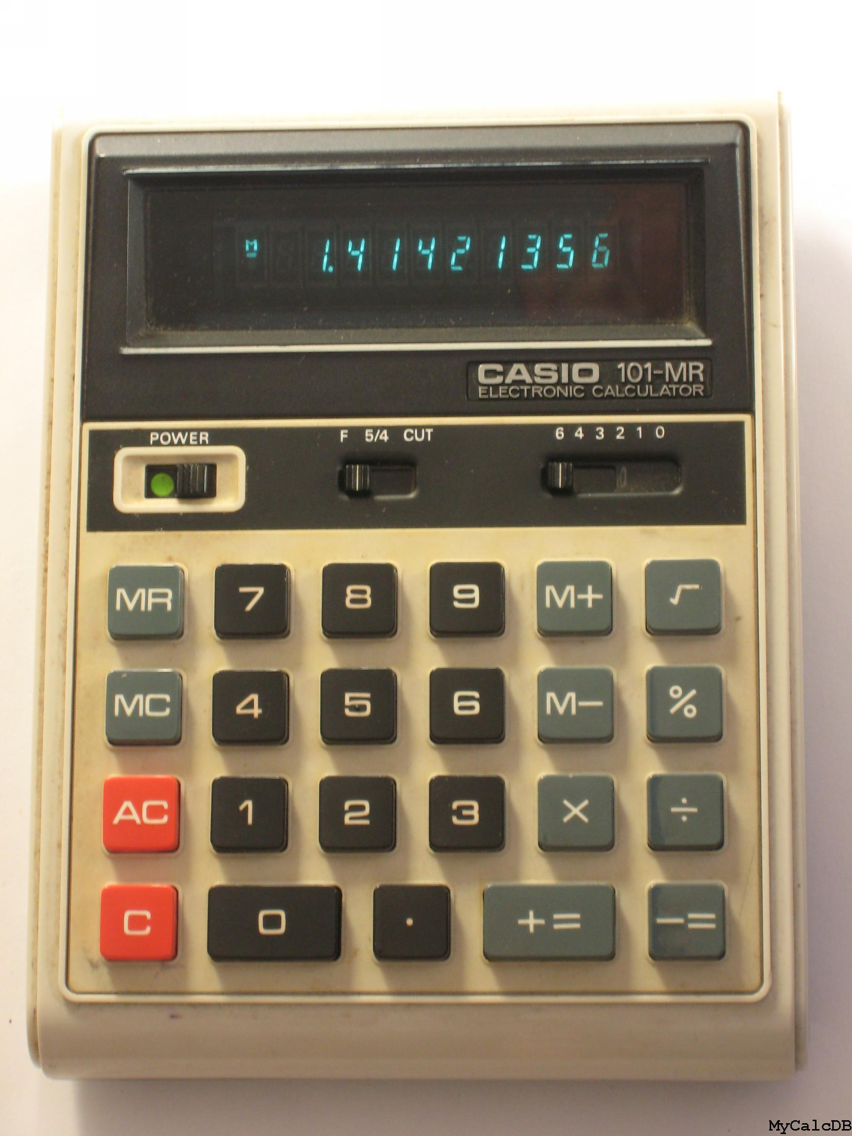 Casio 101-MR