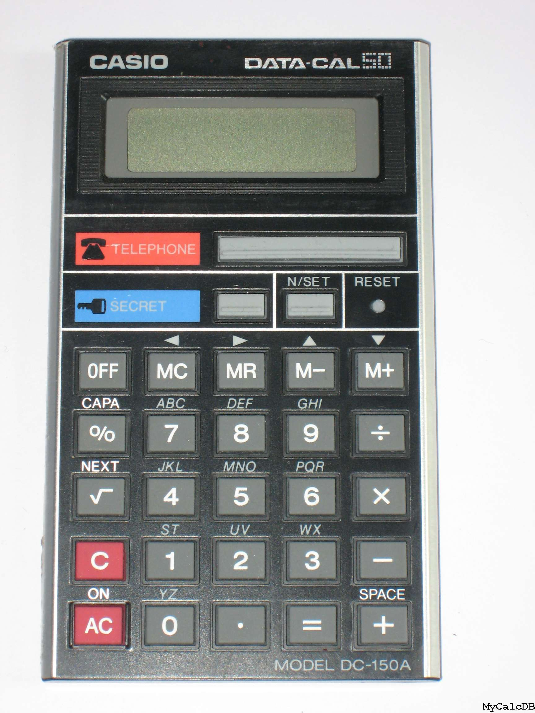 Casio DATA-CAL 50