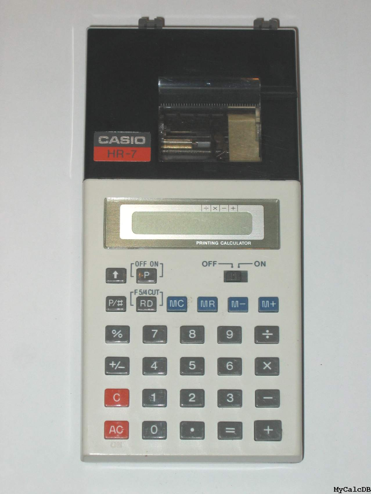 Casio HR-7