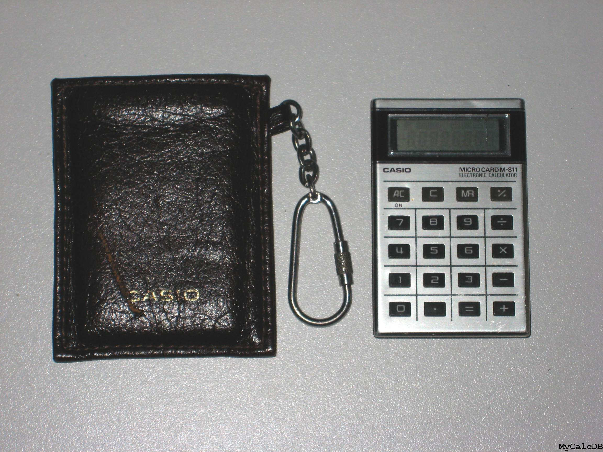 Casio MICRO CARD M-811