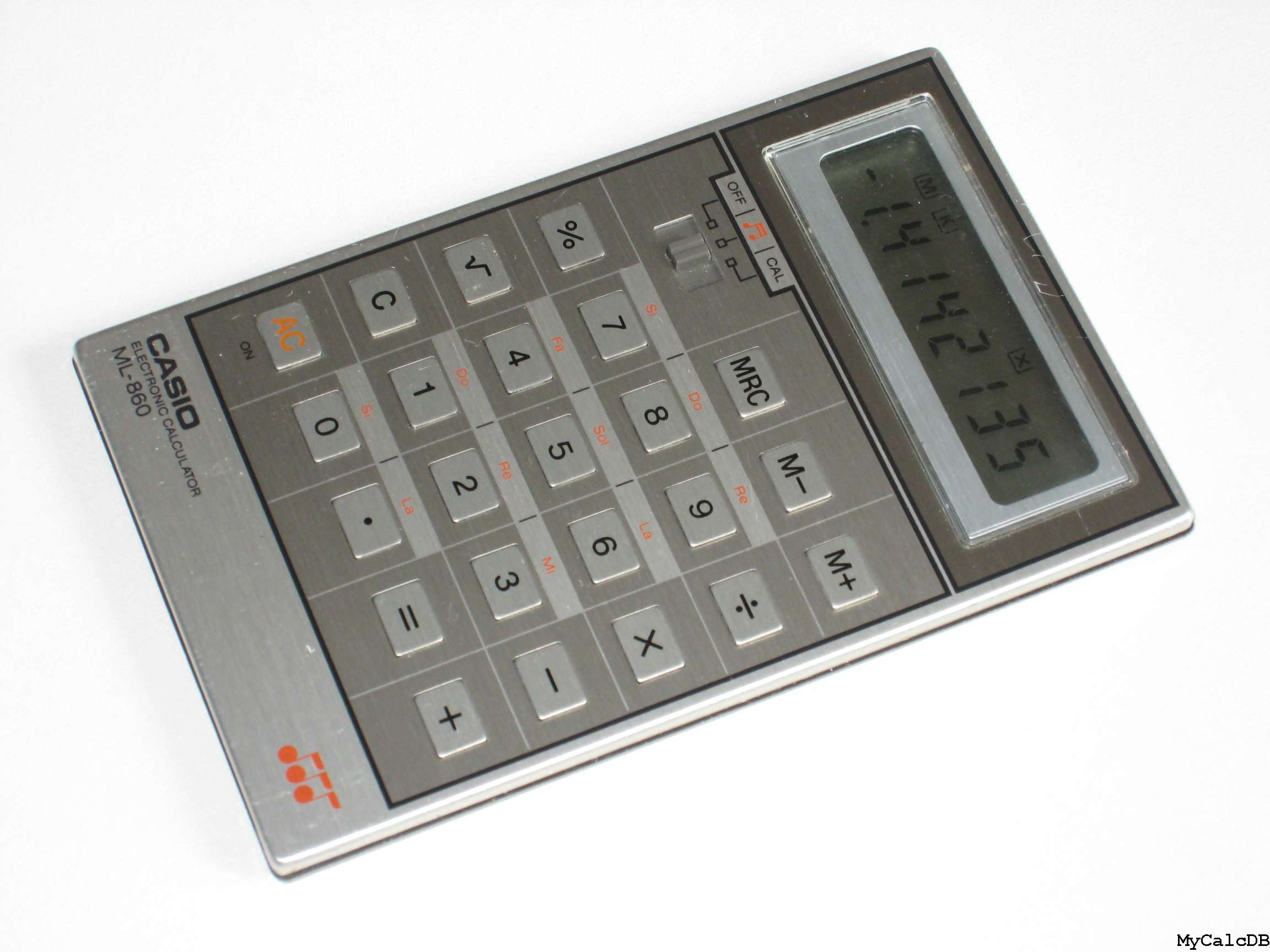 Casio ML-860