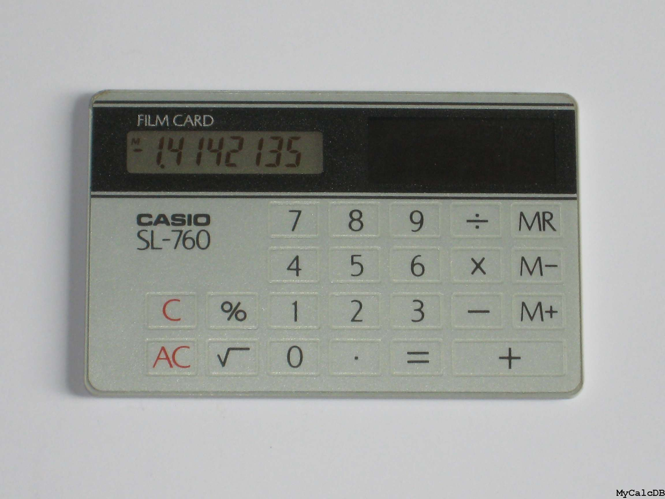 card calculator