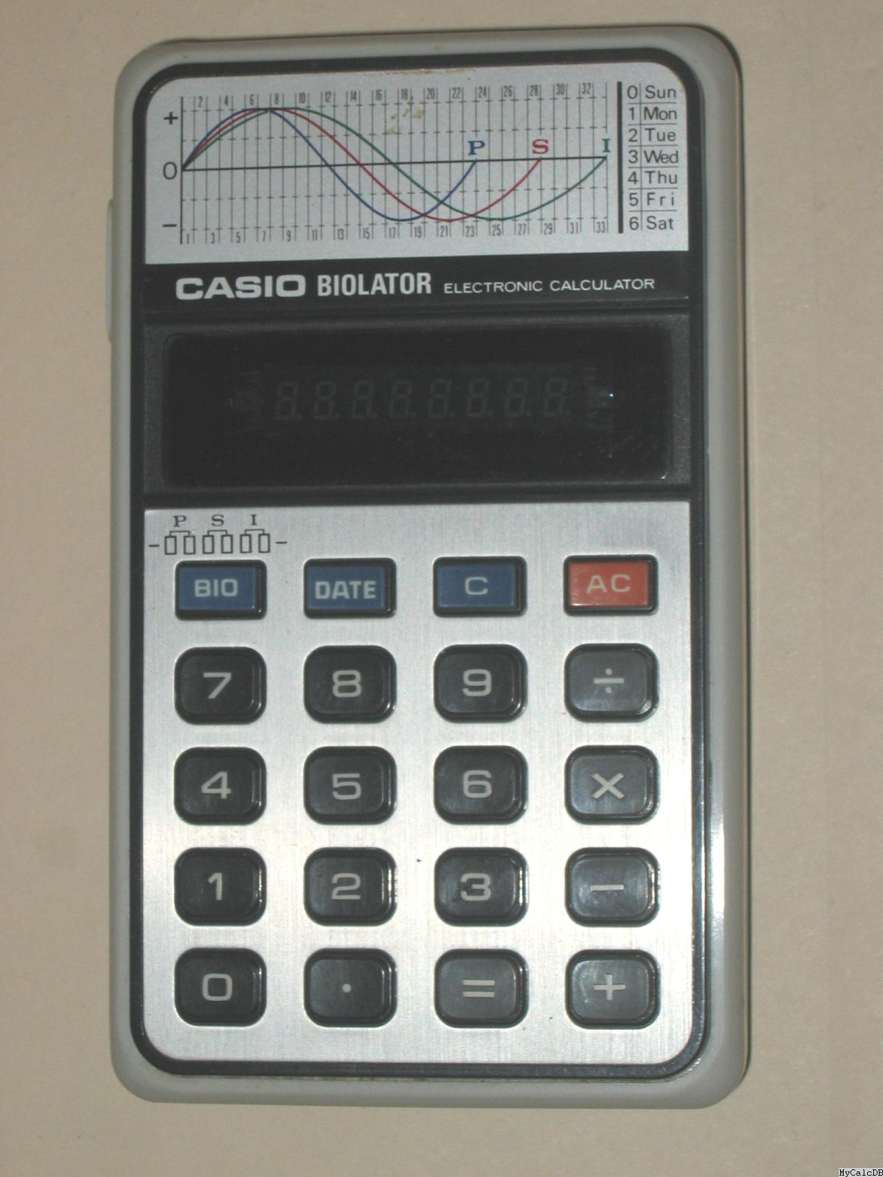 Casio BIOLATOR