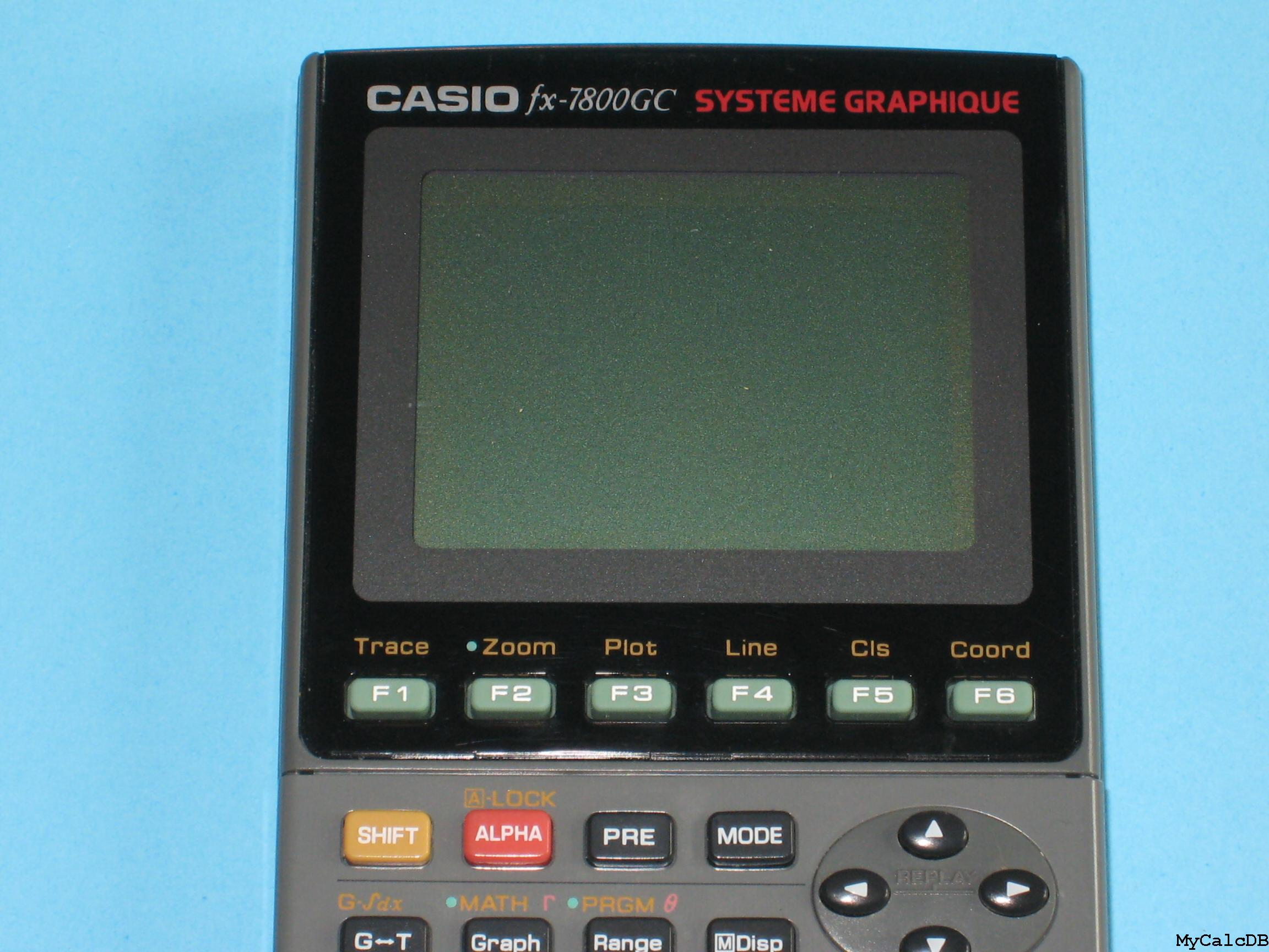 Casio fx-7800GC