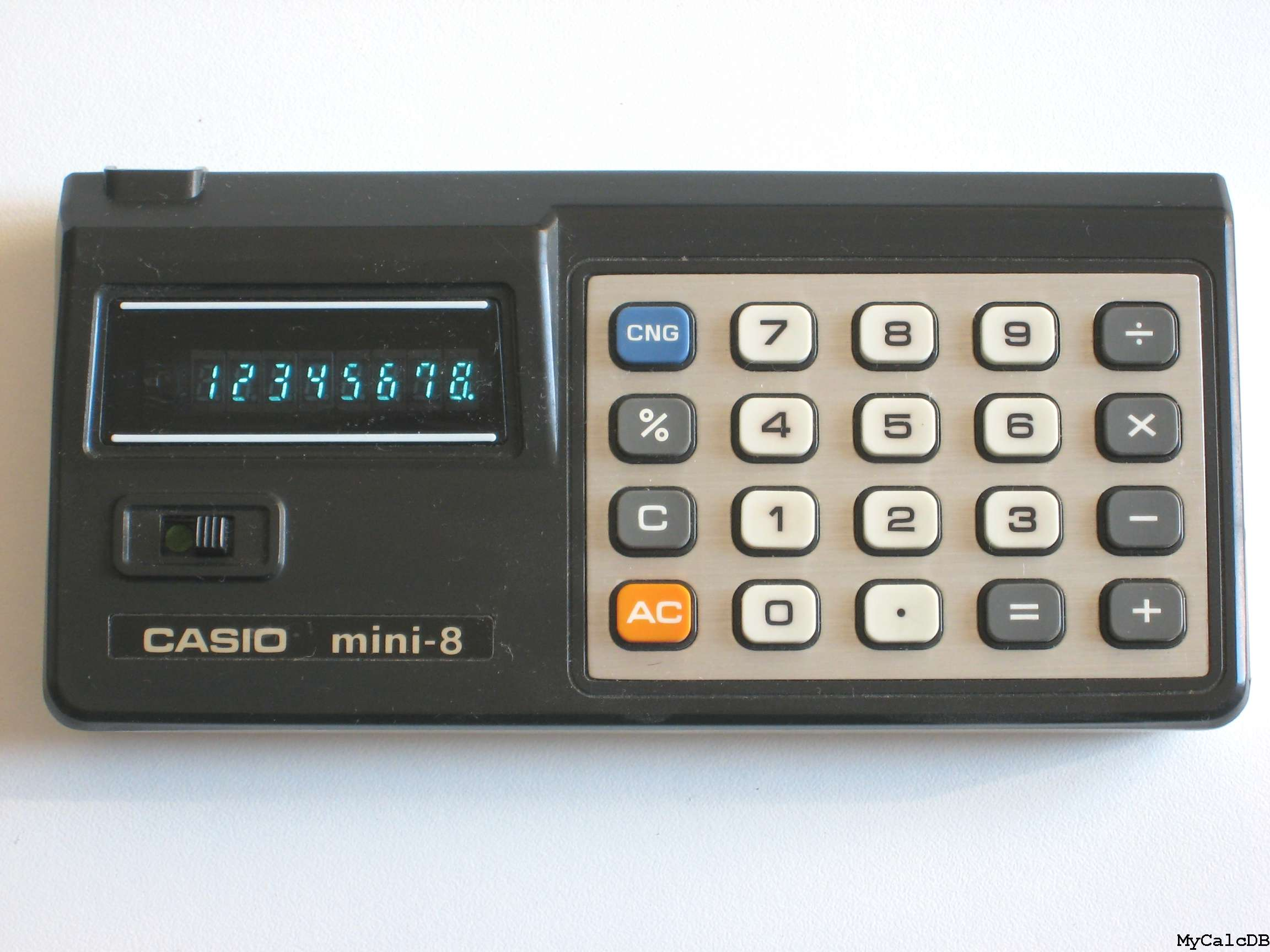 Casio mini-8