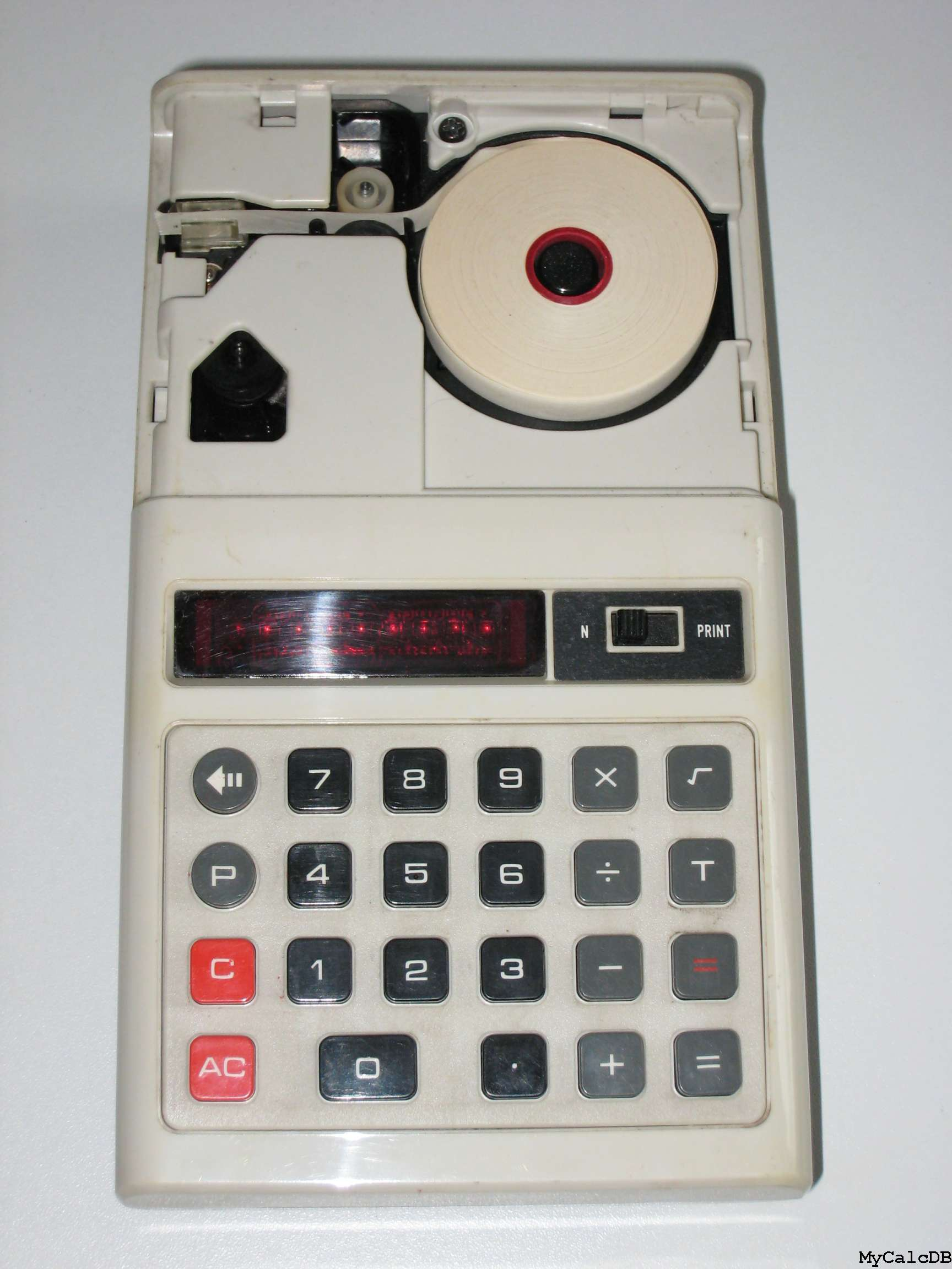 Casio mini-printer