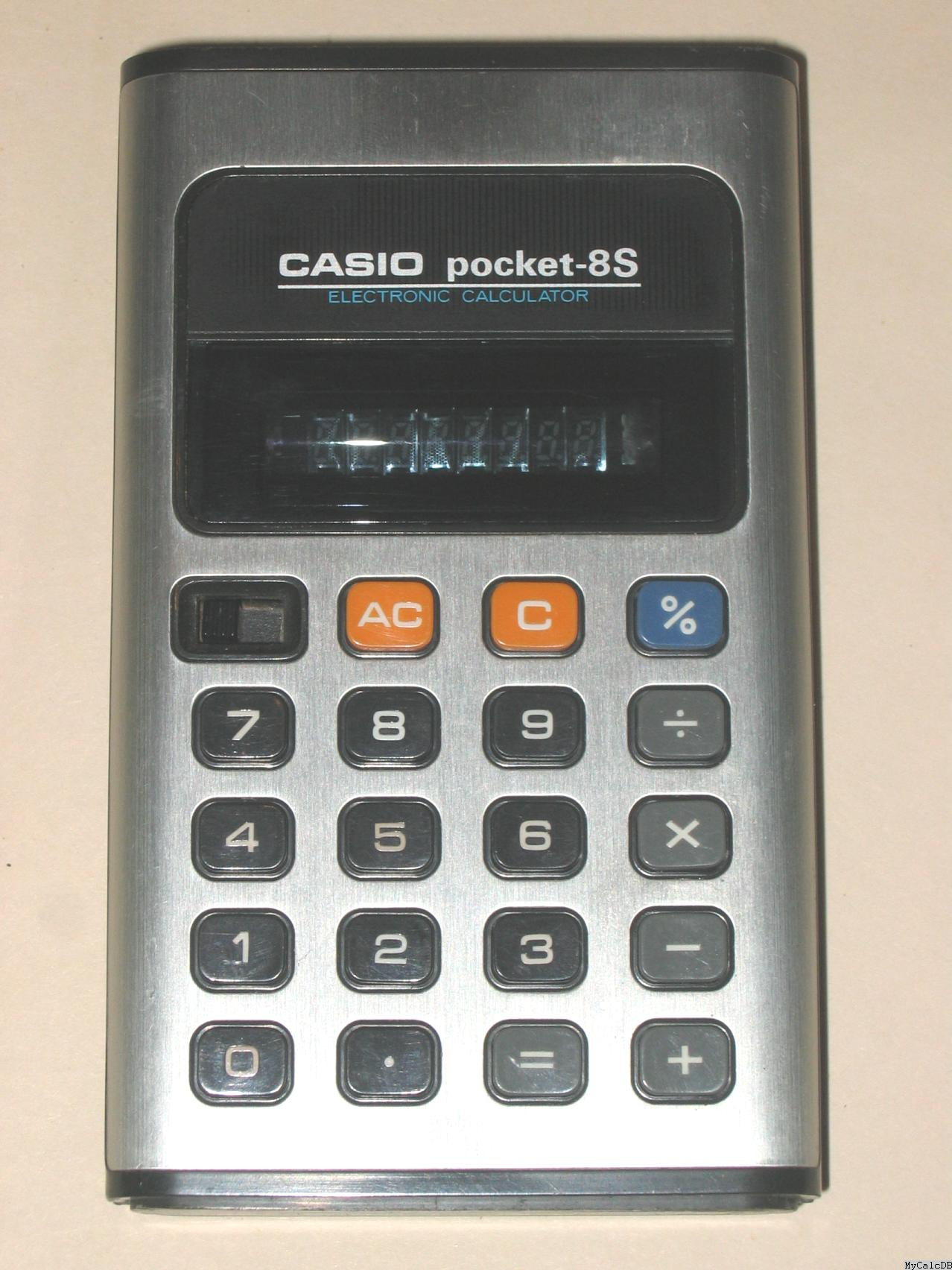 Casio pocket-8S