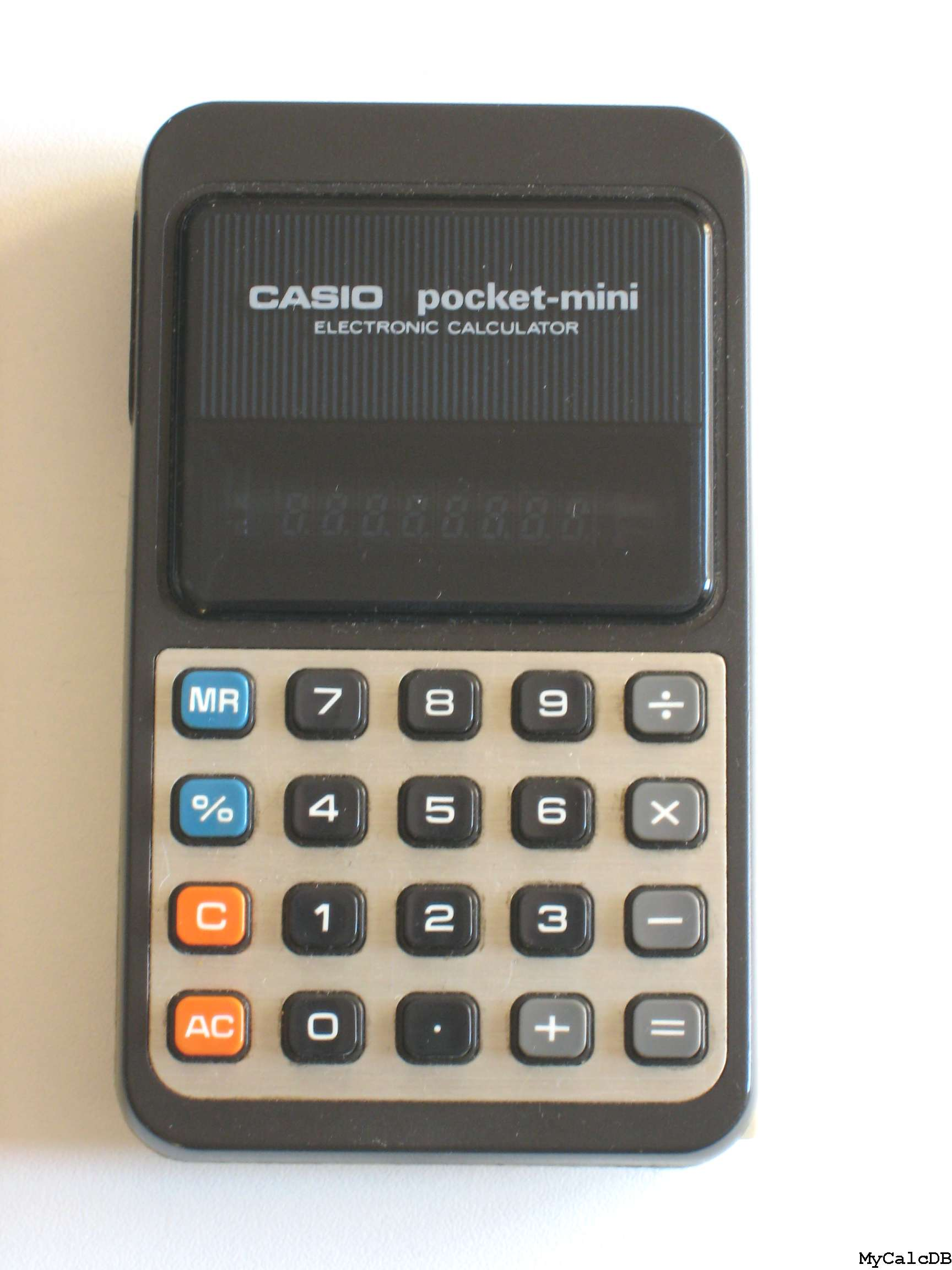Casio pocket-mini