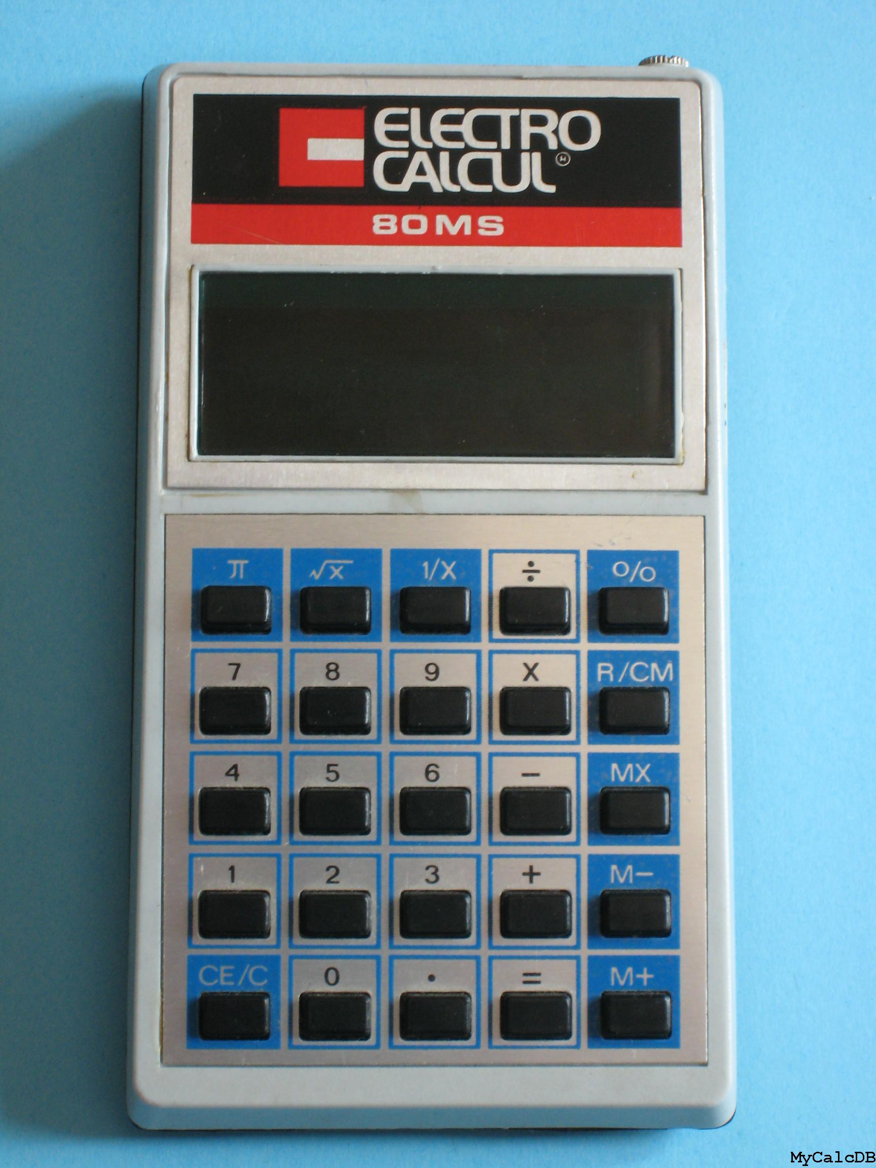 Electro Calcul 80MS