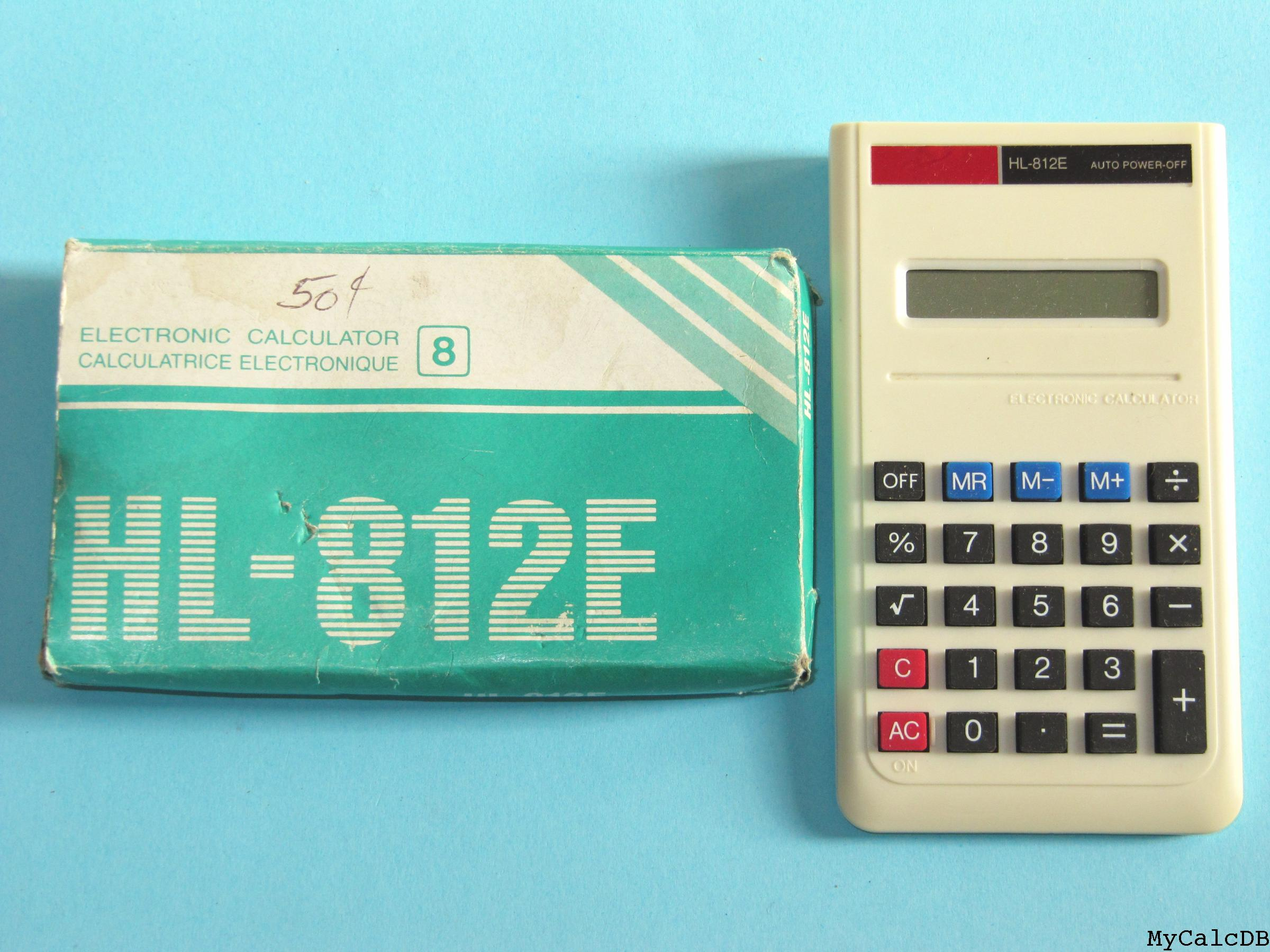 FAKE Casio HL-812E