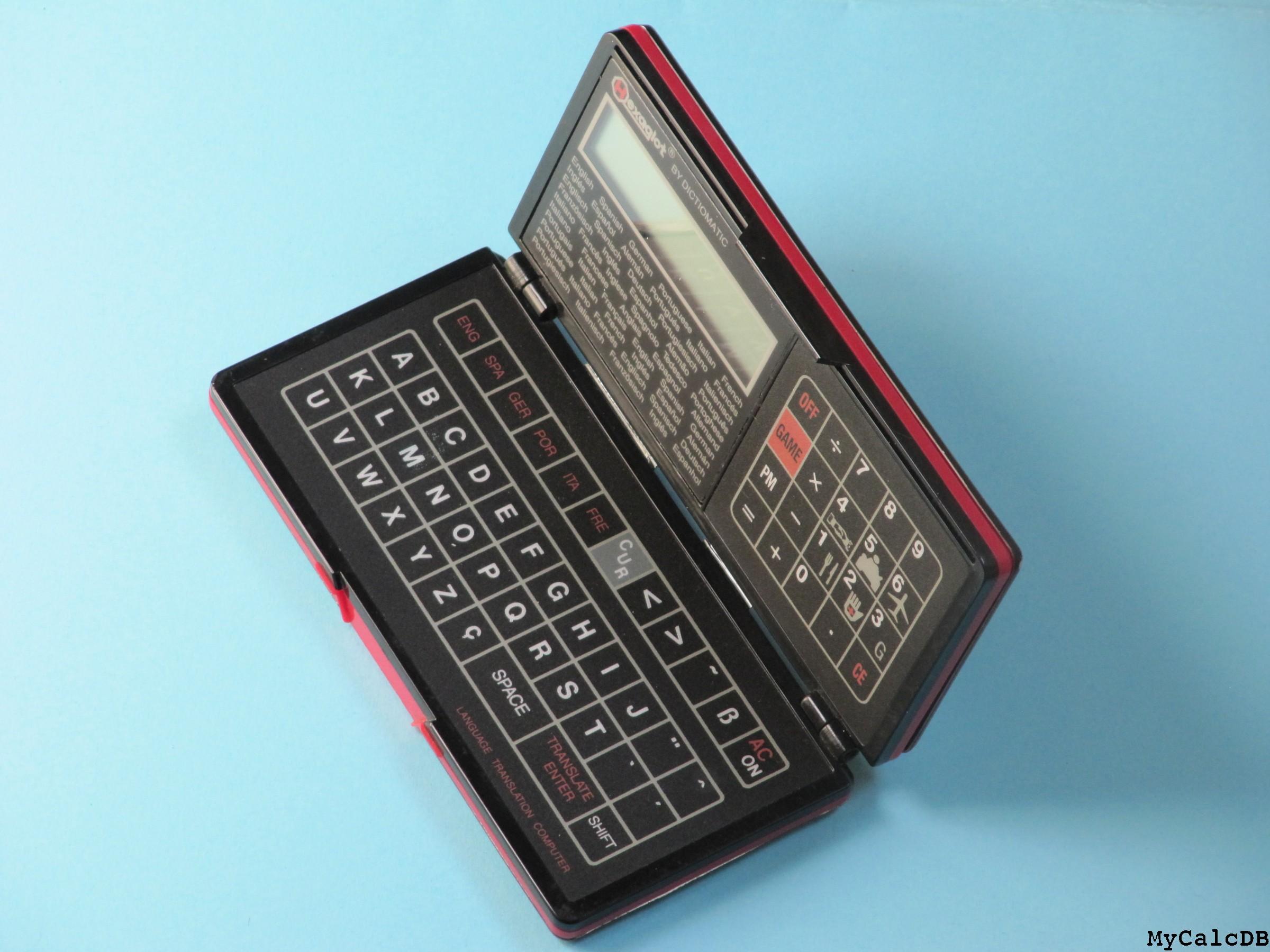 mycalcdb calculator hexaglot language translator computer