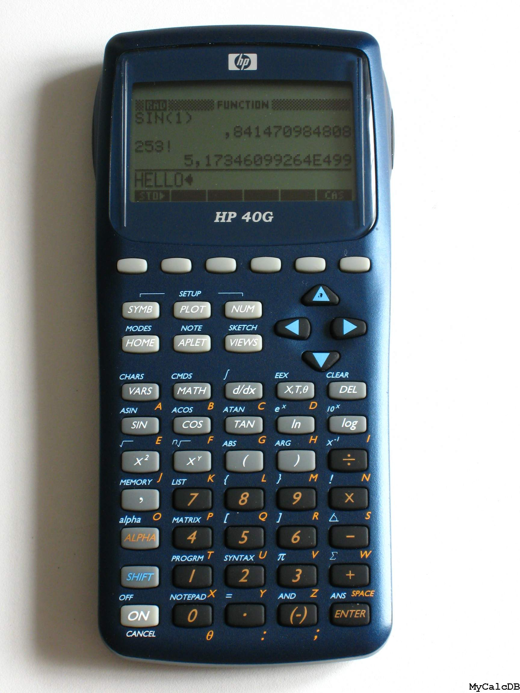 Hewlett-Packard HP 40G