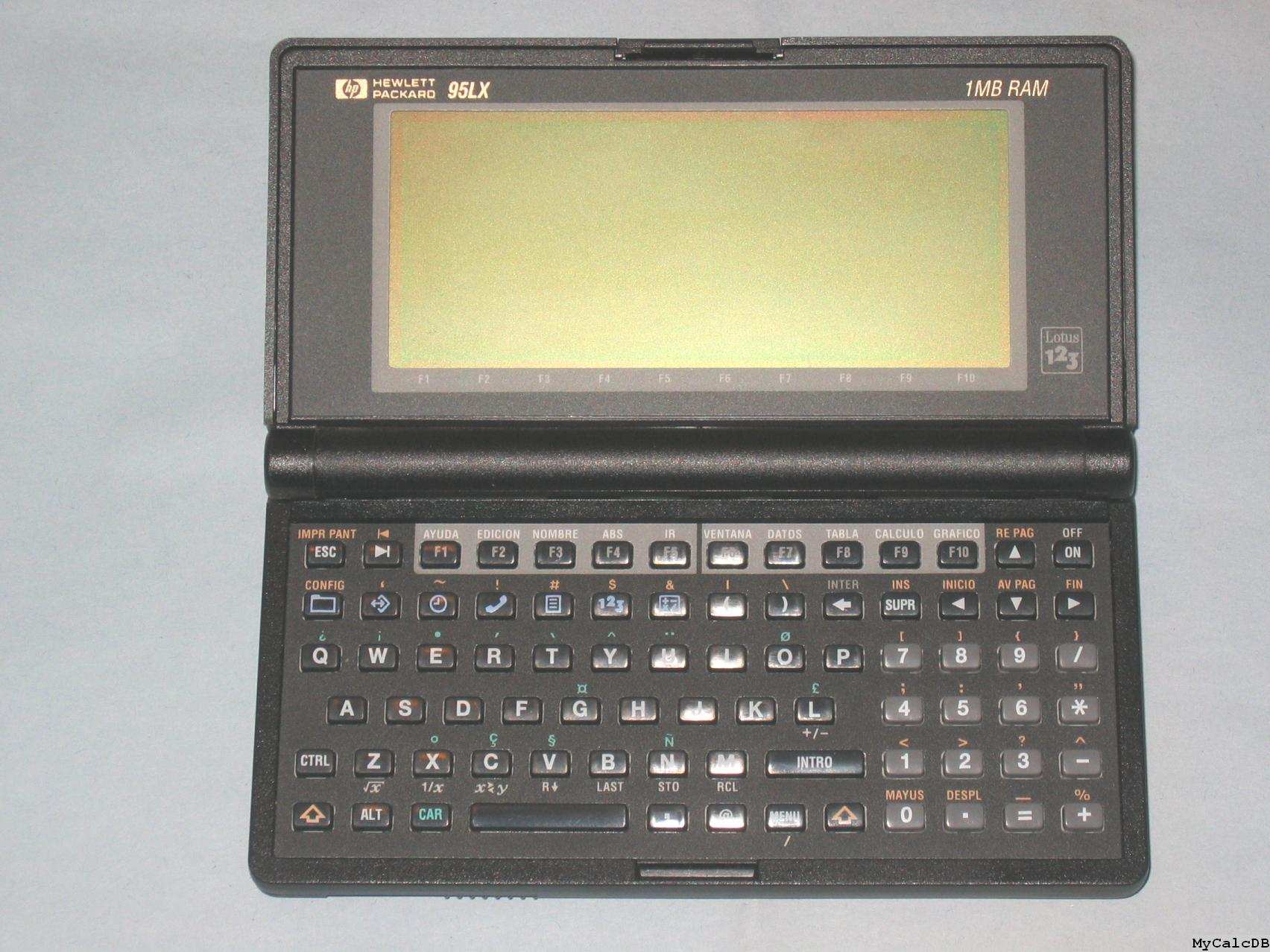 Hewlett-Packard 95LX 1MB