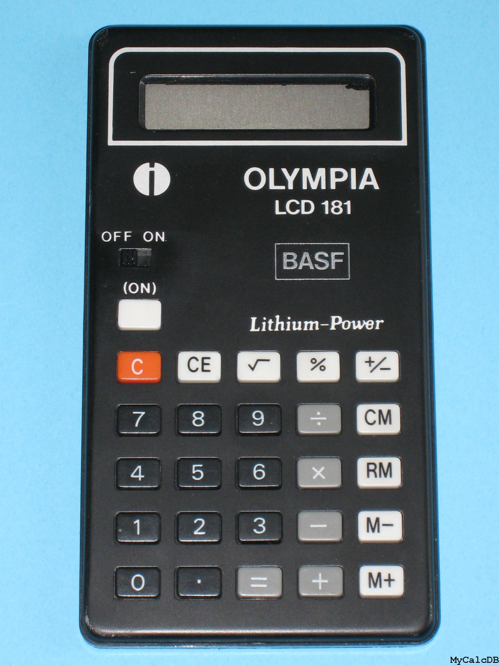 Olympia LCD 181