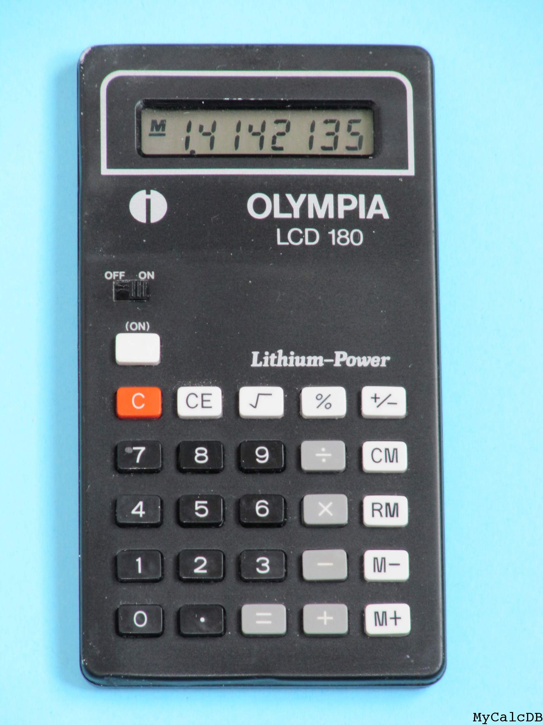 Olympia LCD 180