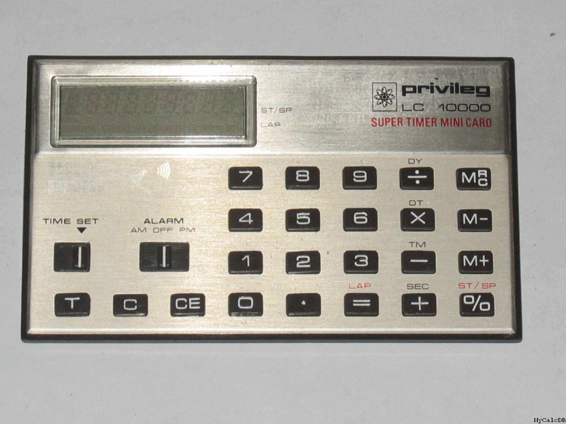 Privileg / Quelle LC 10000 SUPER TIMER MINI CARD