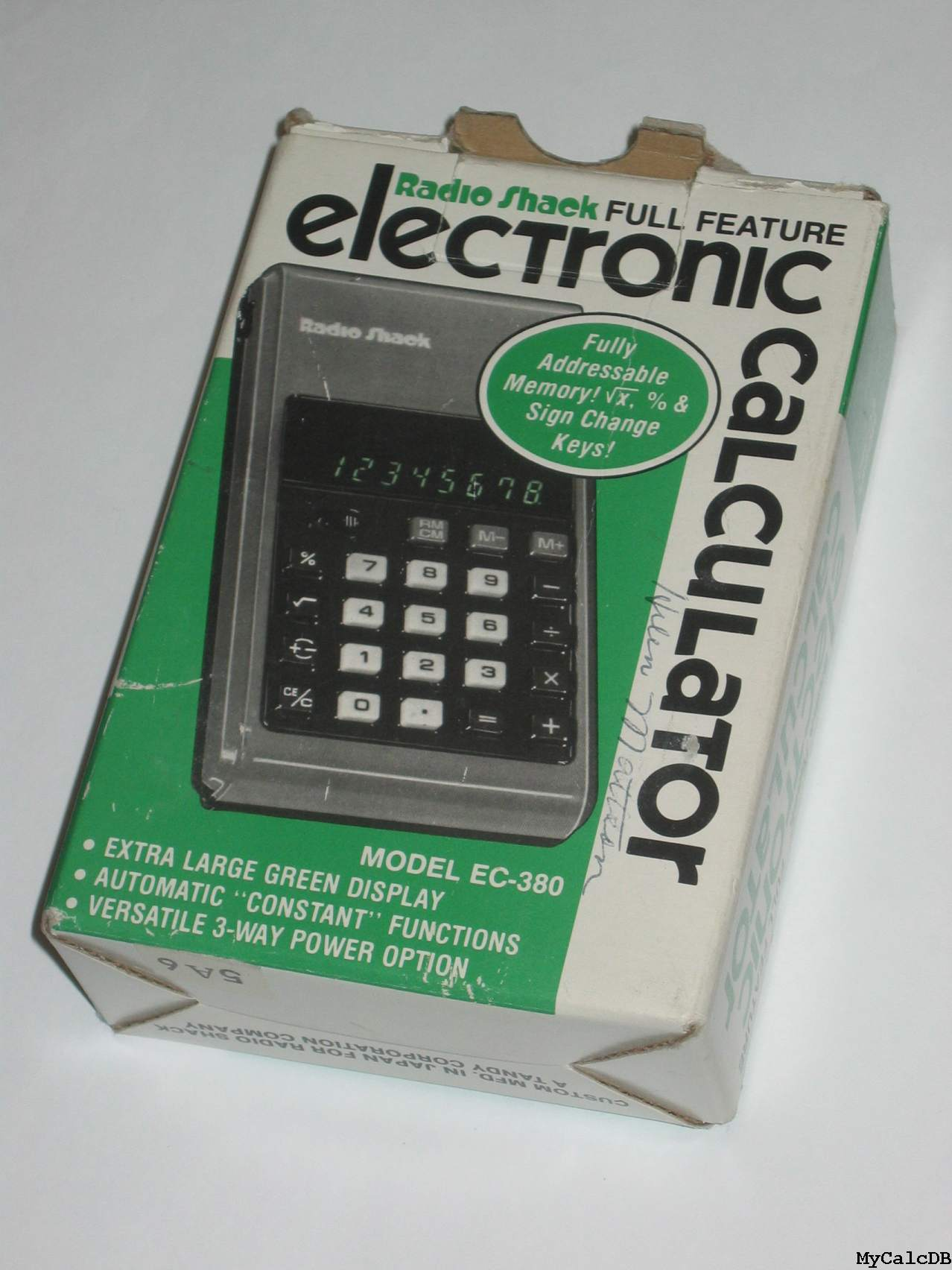 Radio Shack EC-380