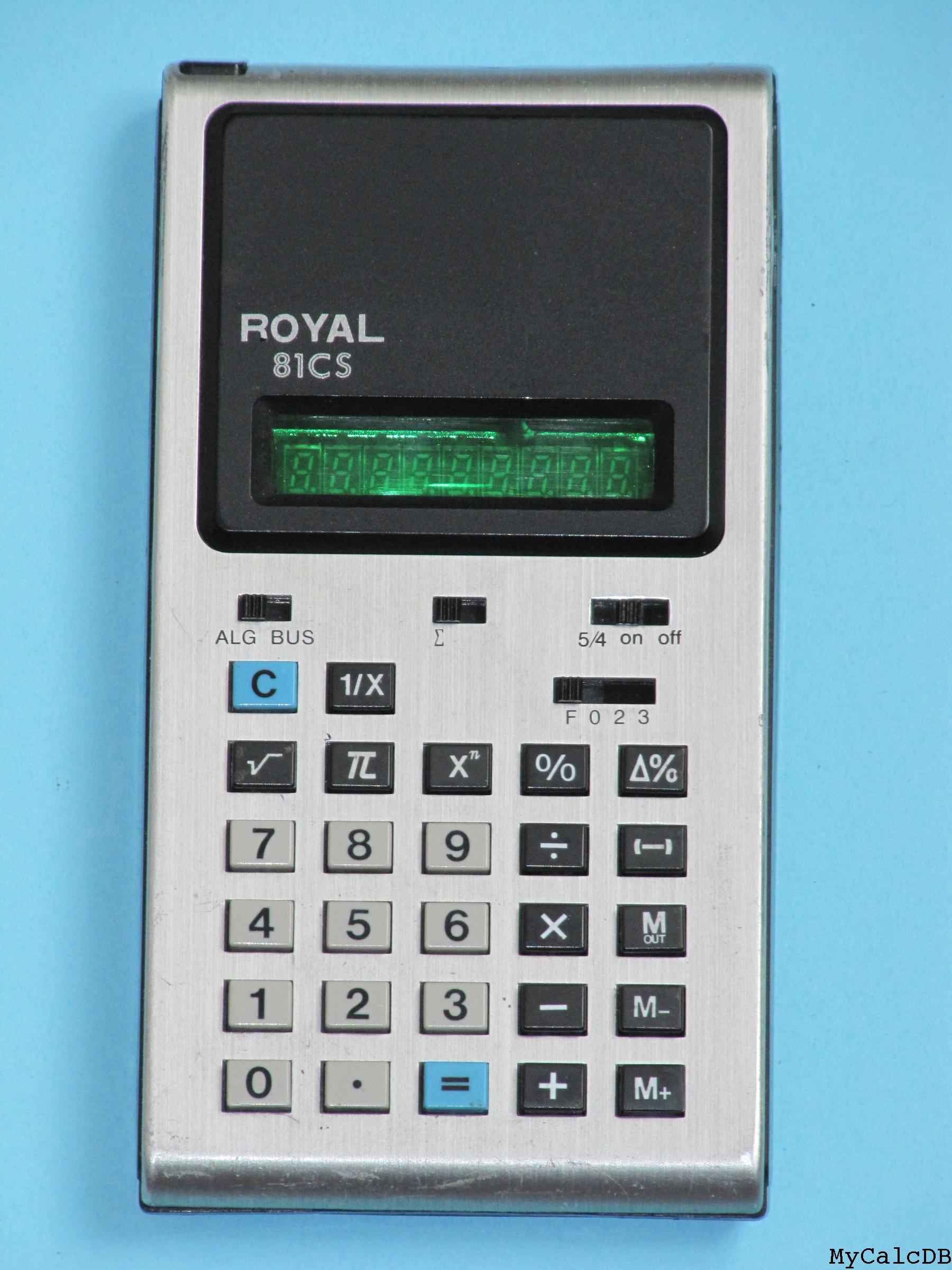 Royal 81CS