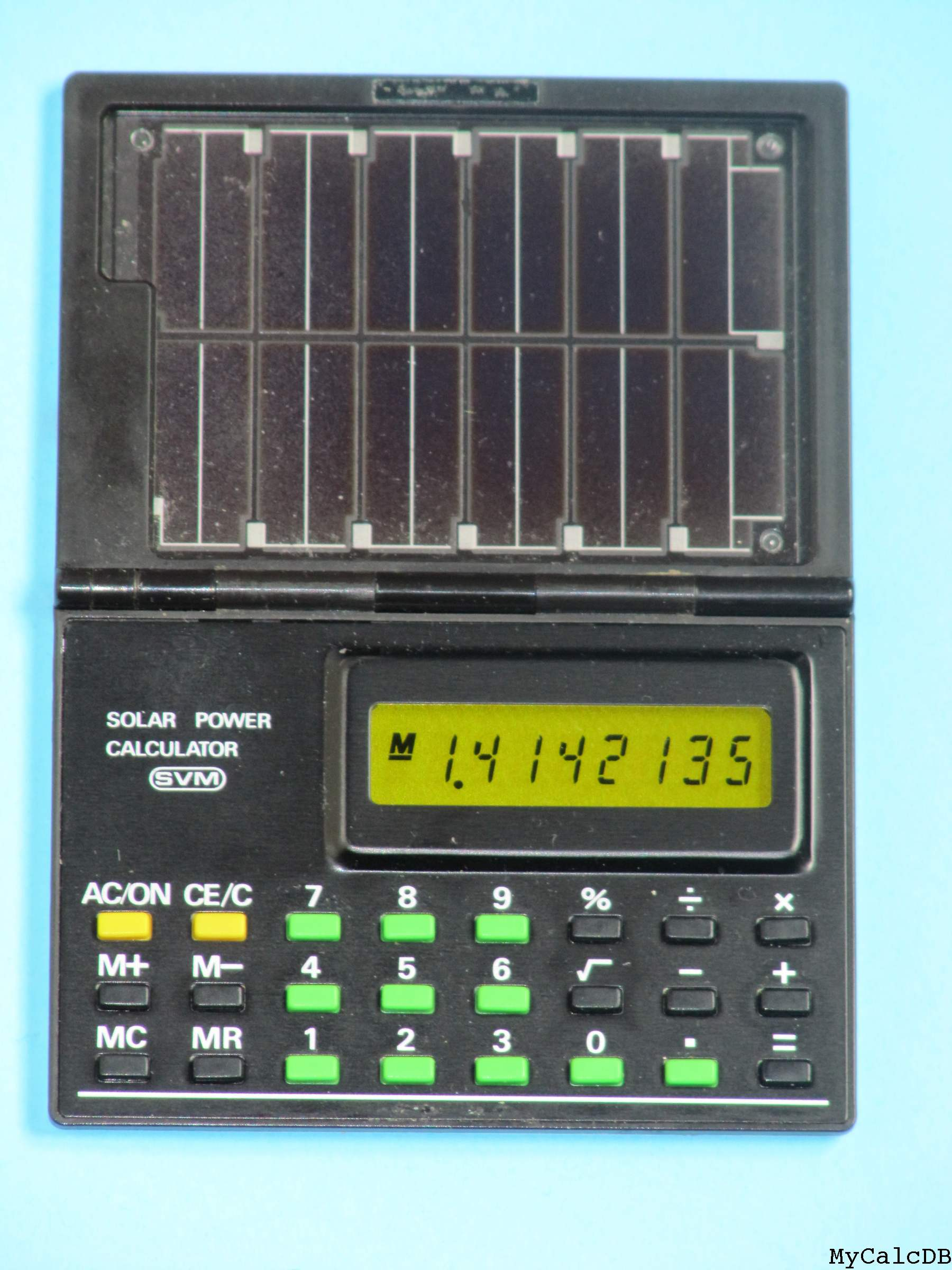 SVM SOLAR POWER CALCULATOR
