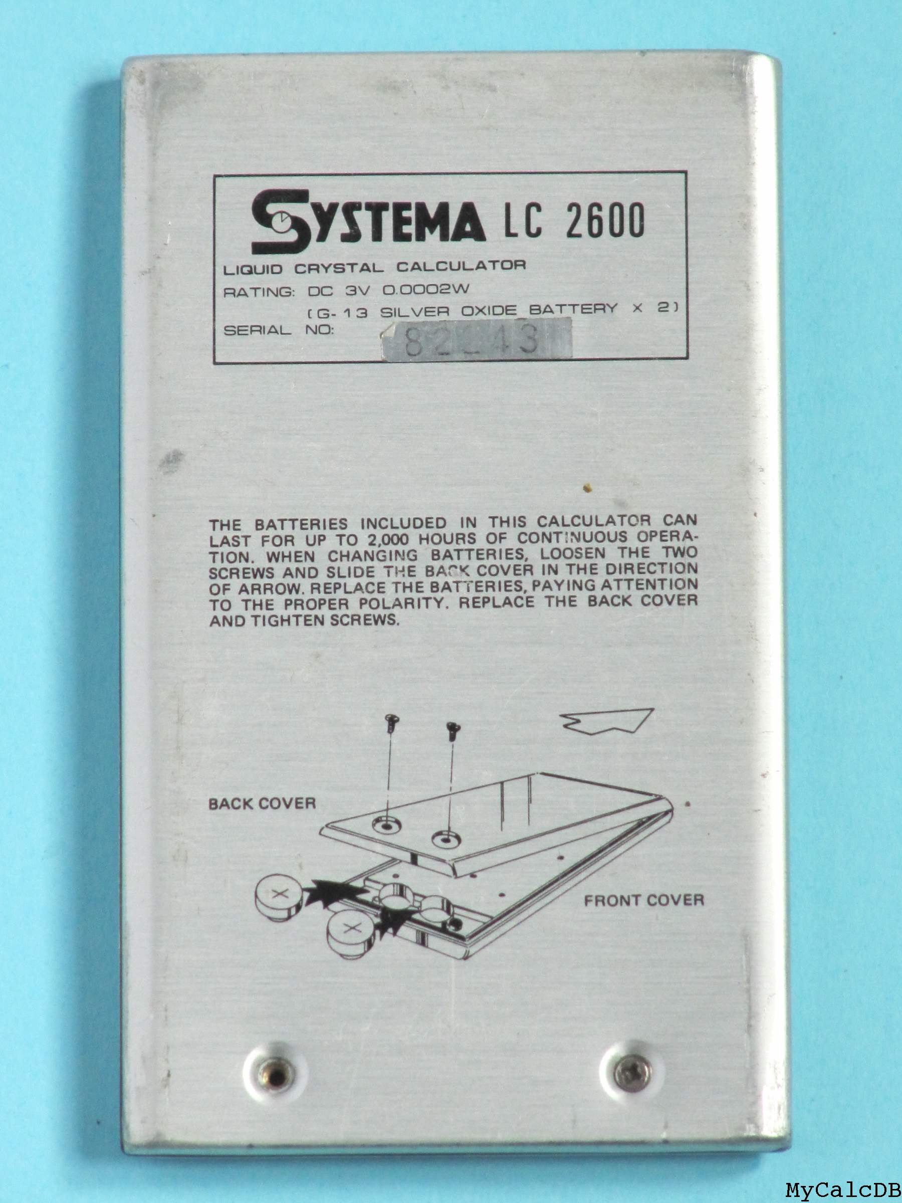 Systema LC2600