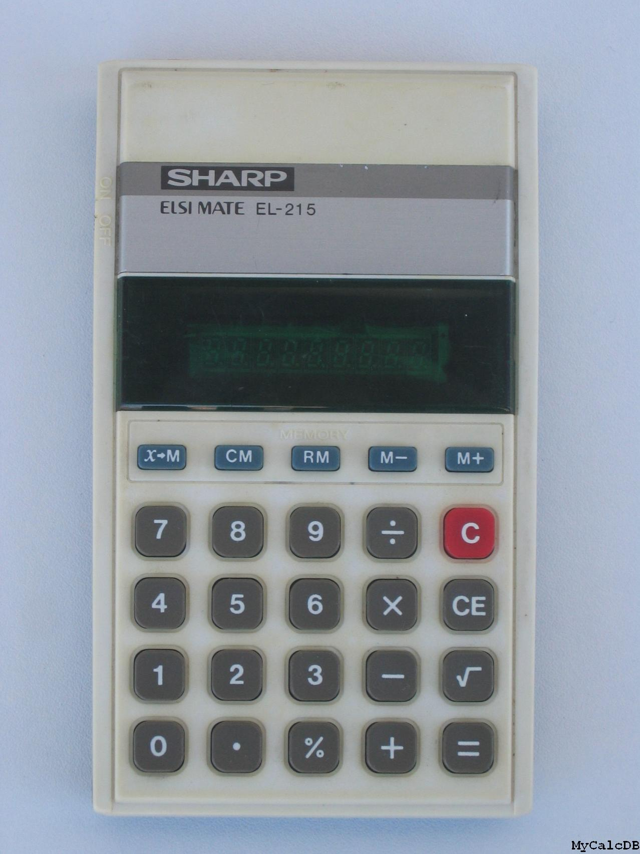Sharp EL-215