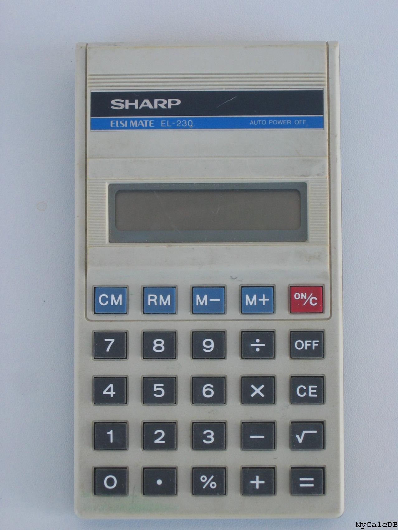 Sharp EL-230