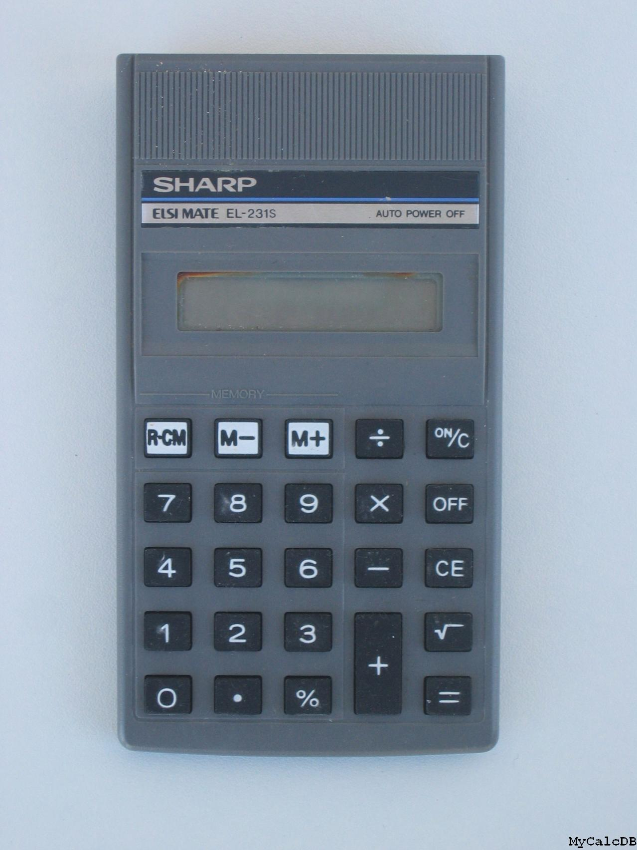 Sharp EL-231S