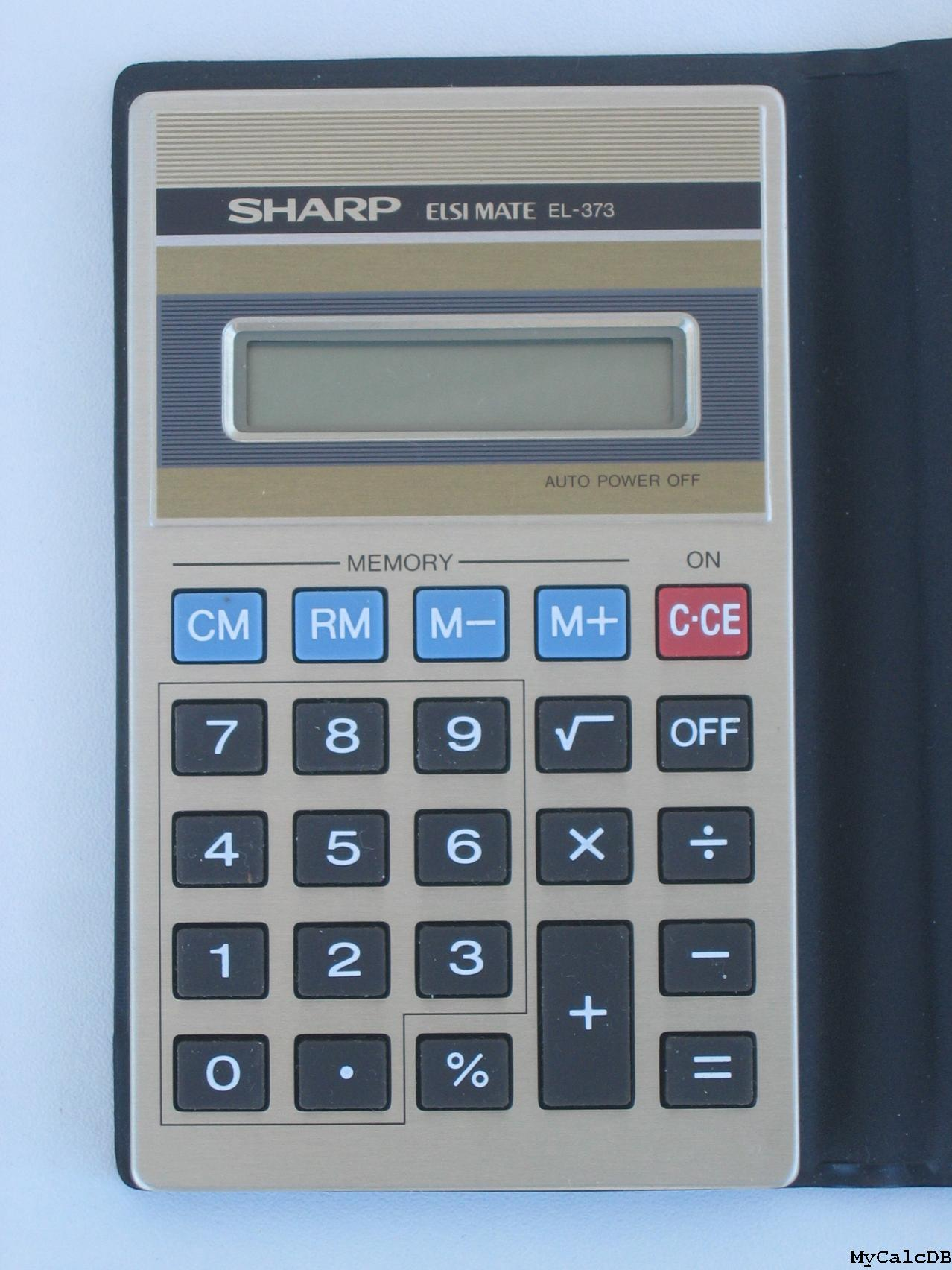 Sharp EL-373