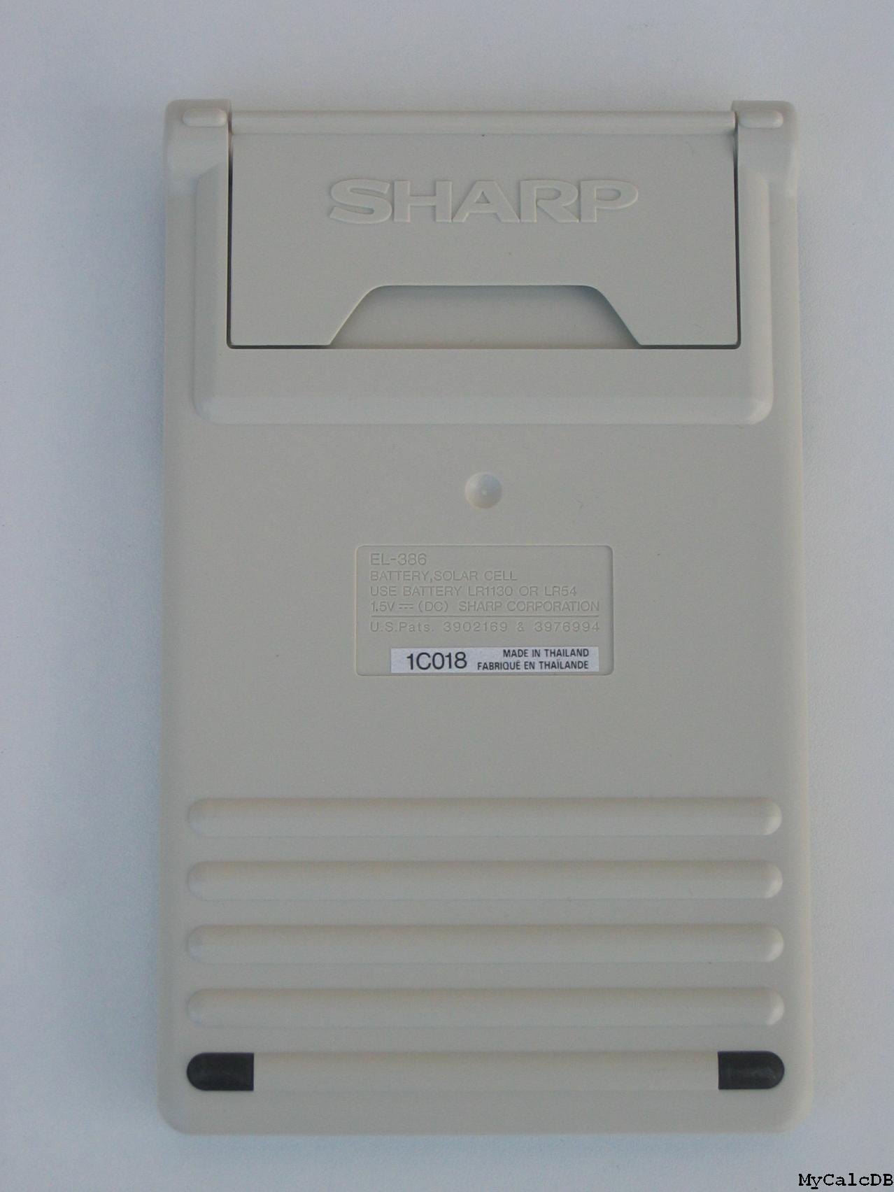 Sharp EL-386