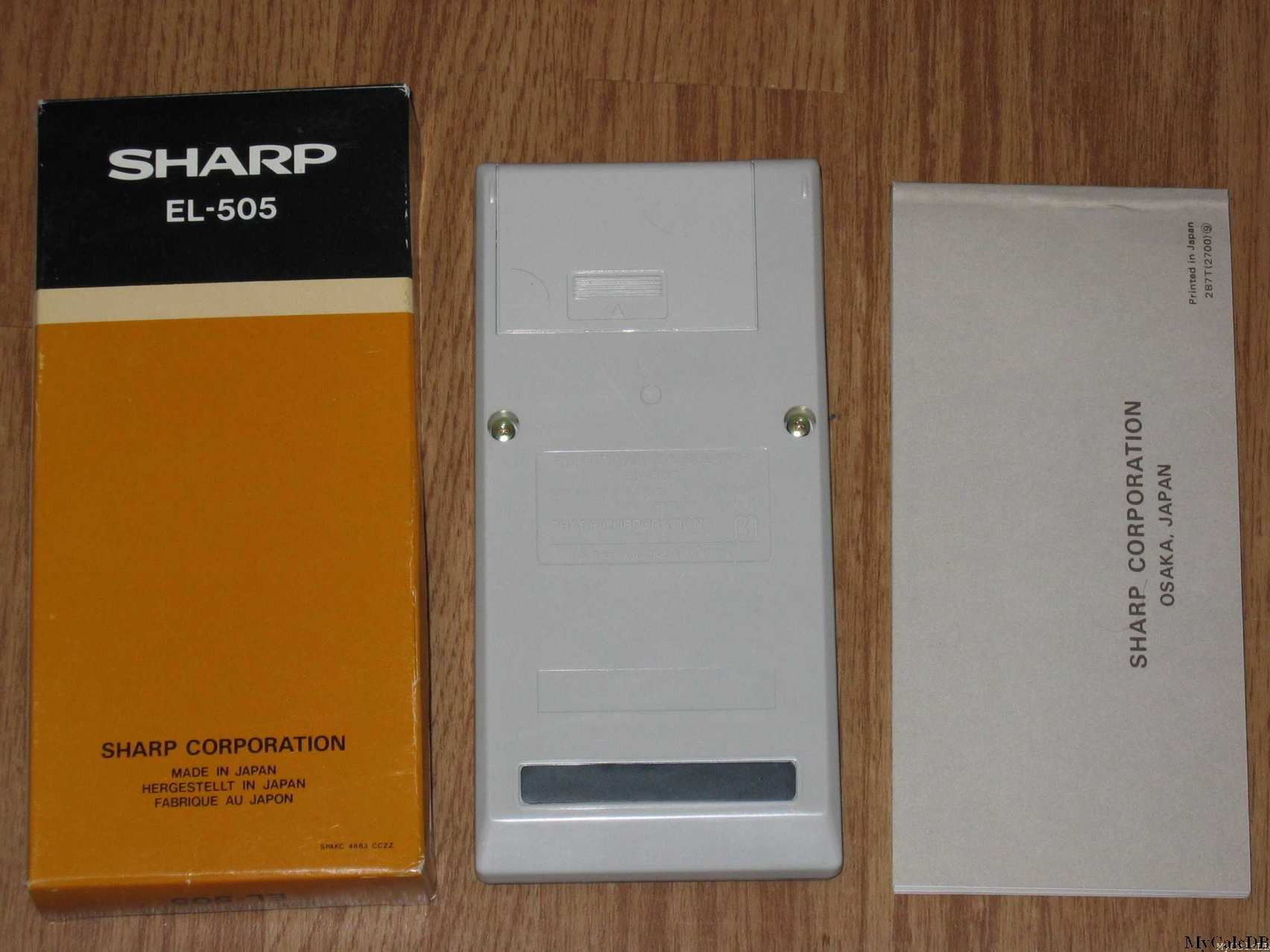 Sharp EL-505