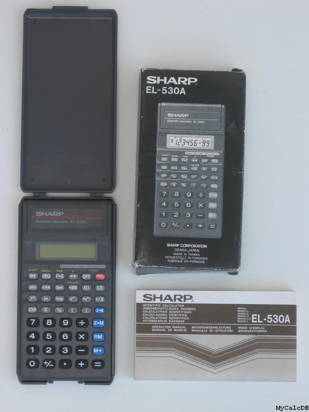 Sharp EL-530A