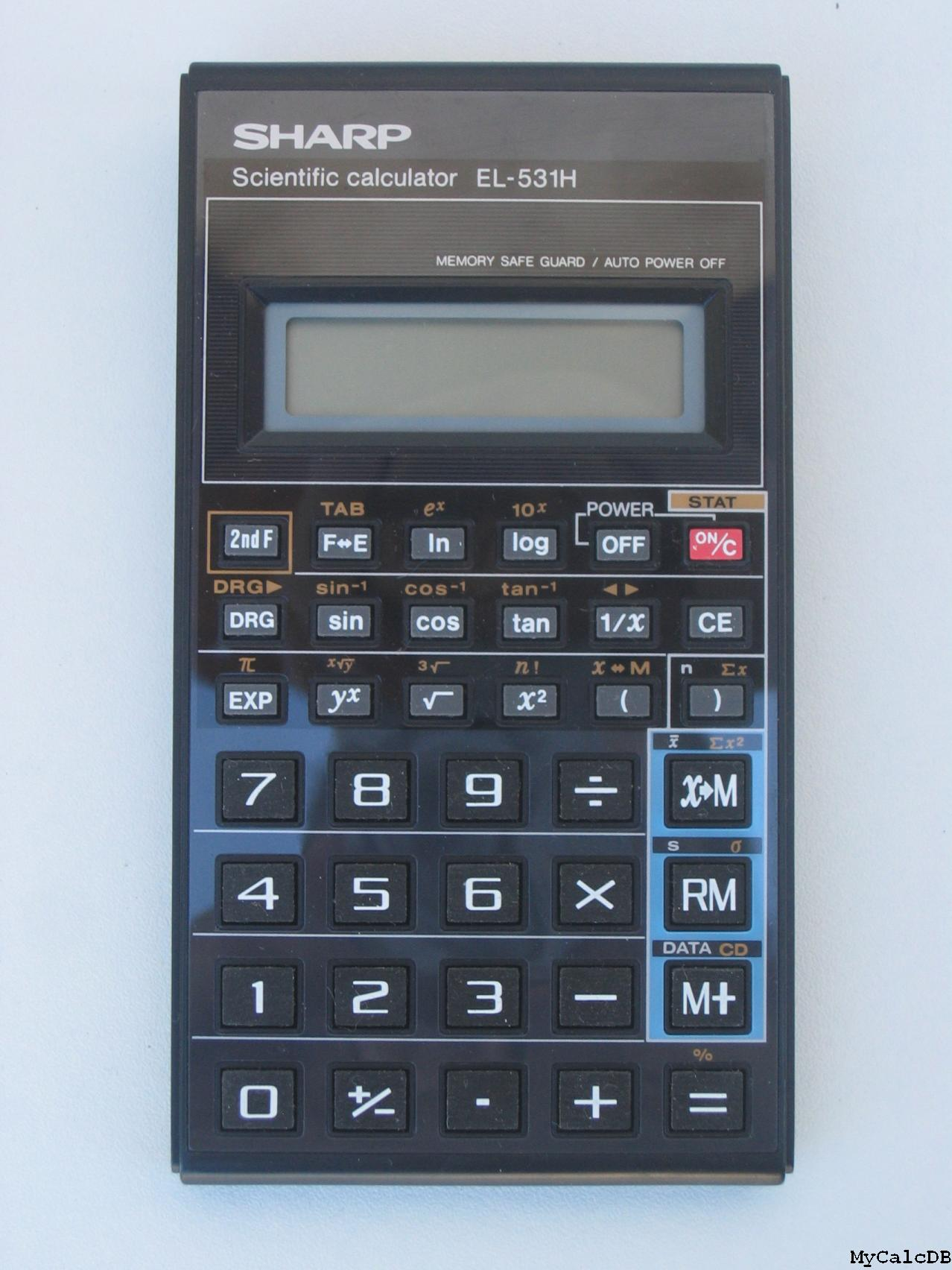 Sharp EL-531H