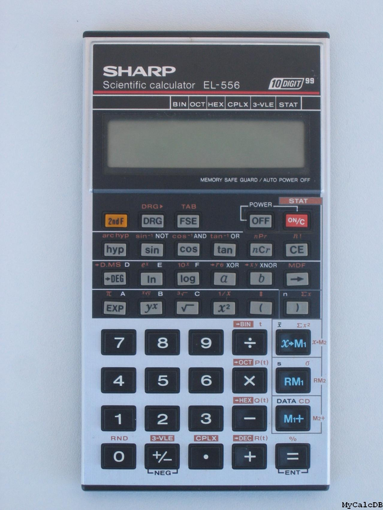 Sharp EL-556