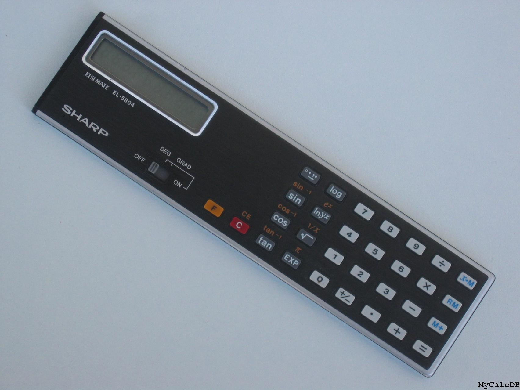 Sharp EL-5804