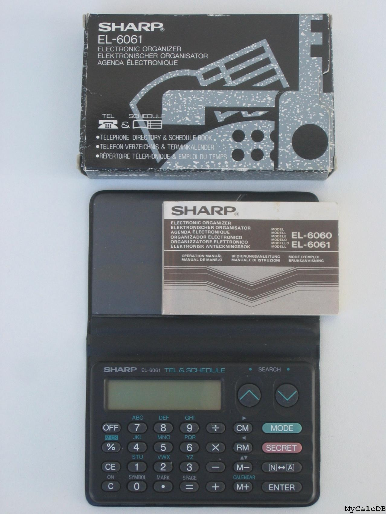 Sharp EL-6061